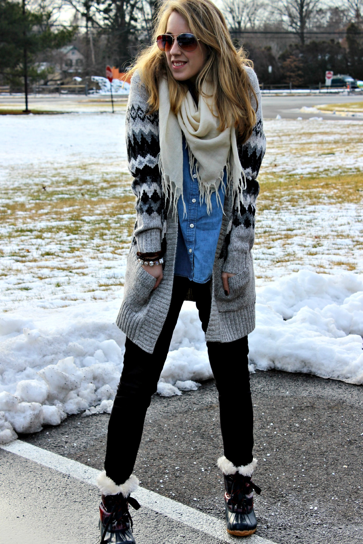 Wearing: Cozy Like A Snow Day Morning