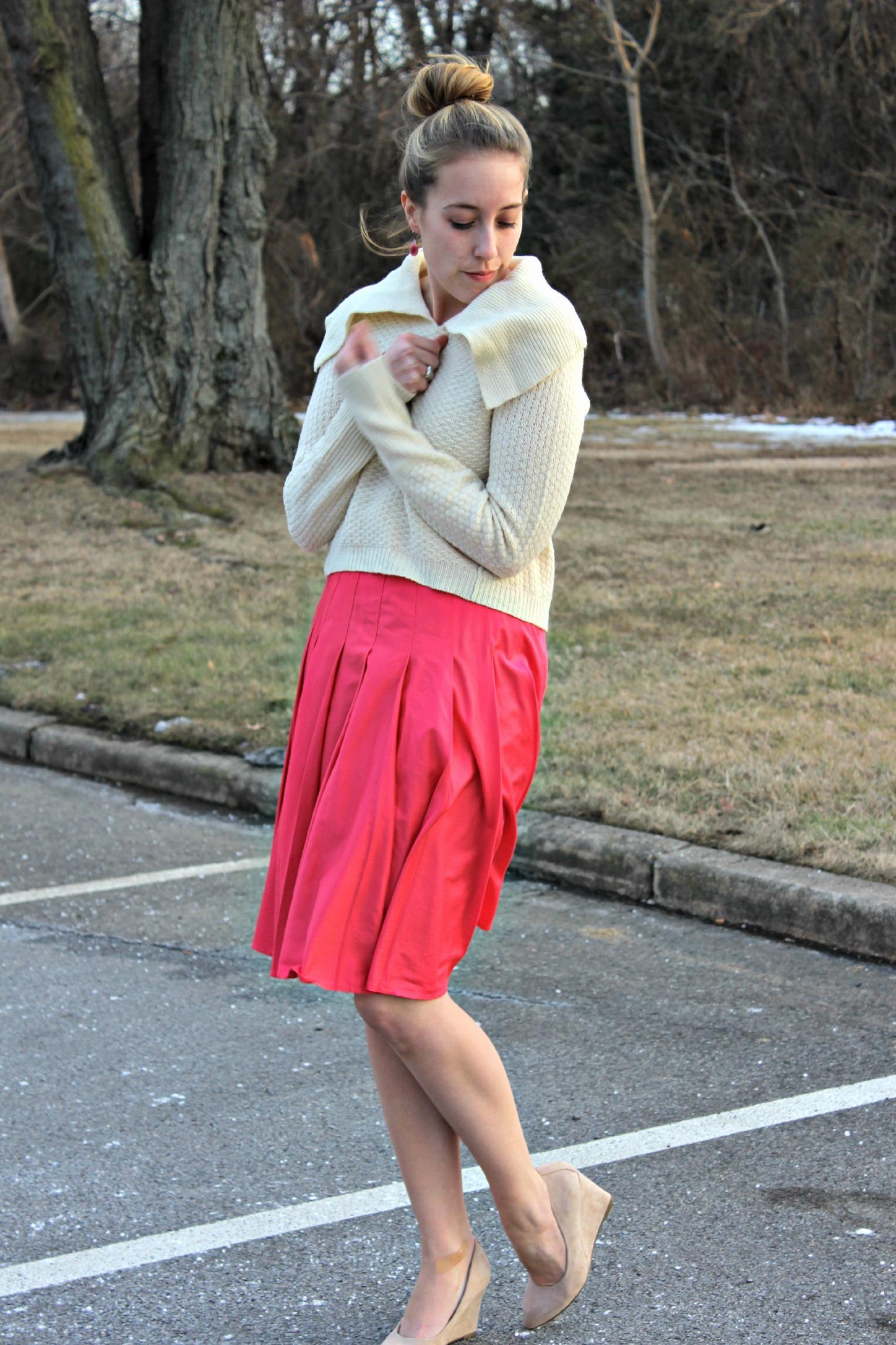 Wearing: Think Pink