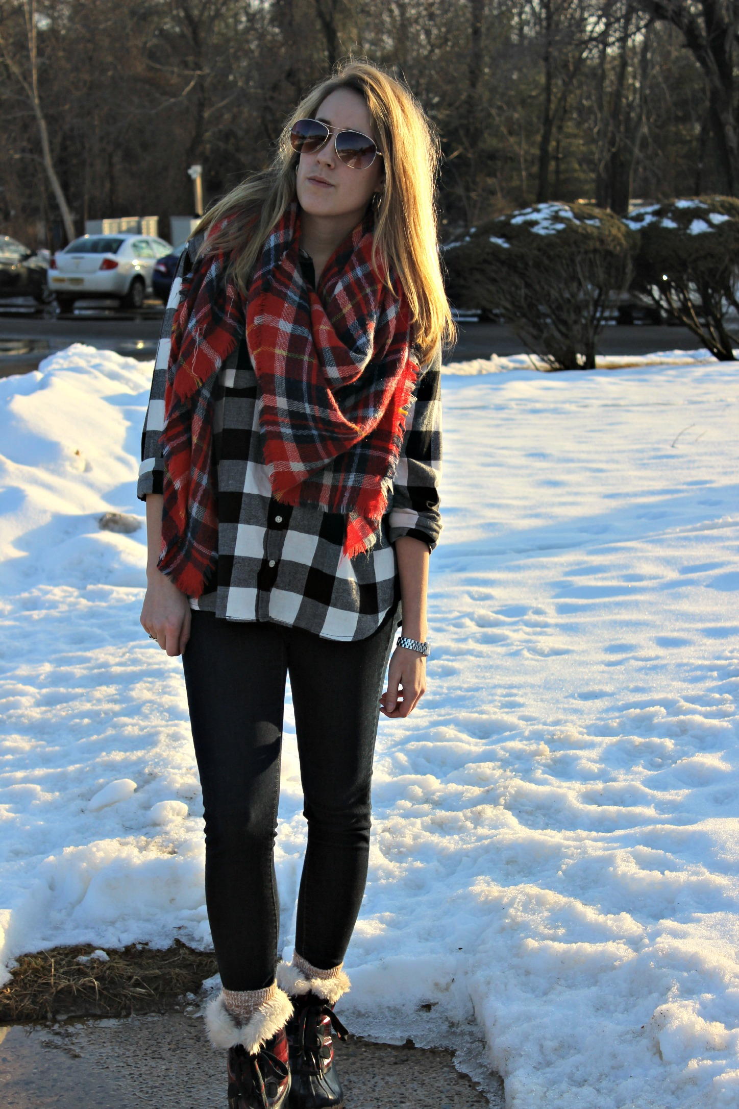 Wearing: Mad for Plaid