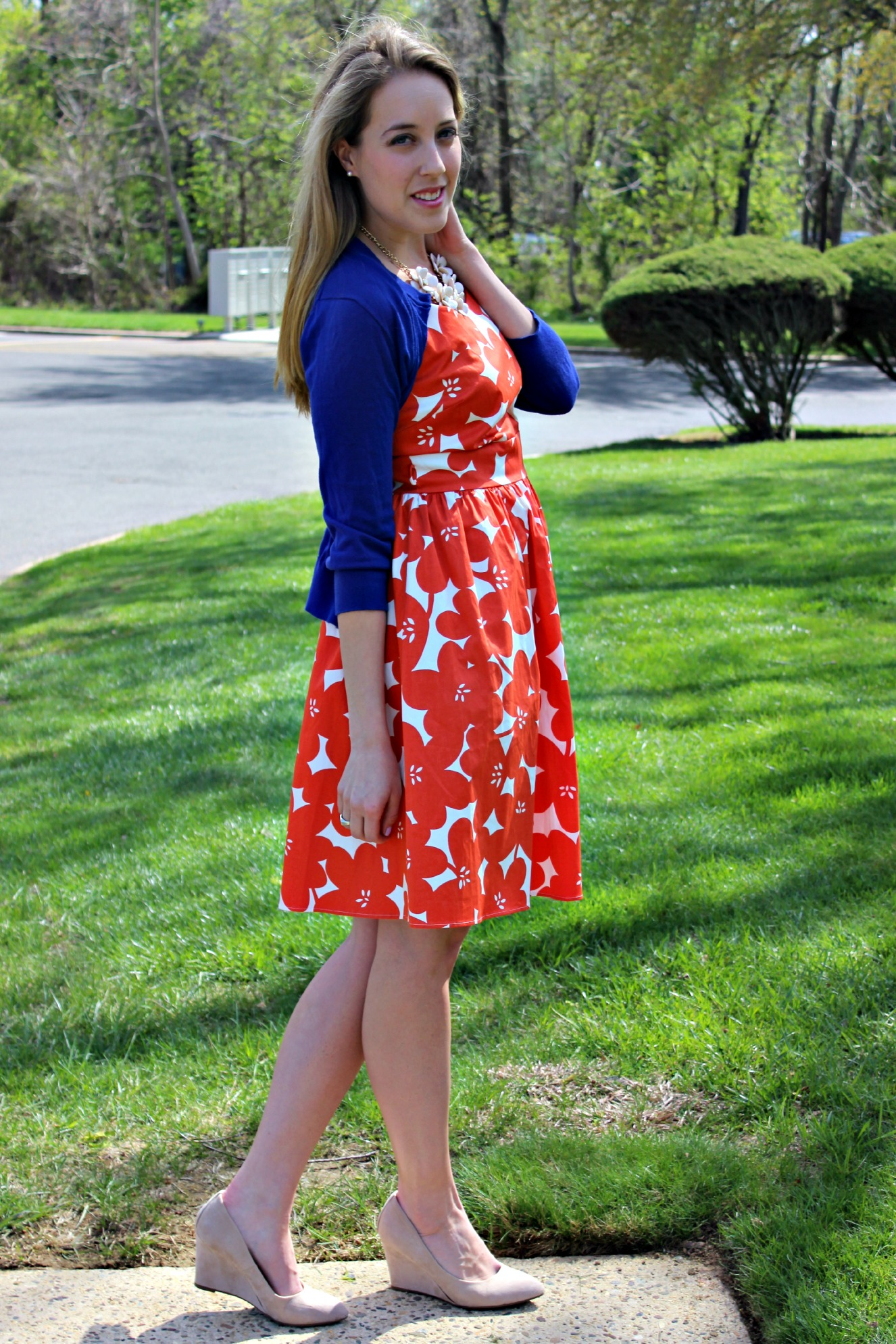 Wearing: May Flowers