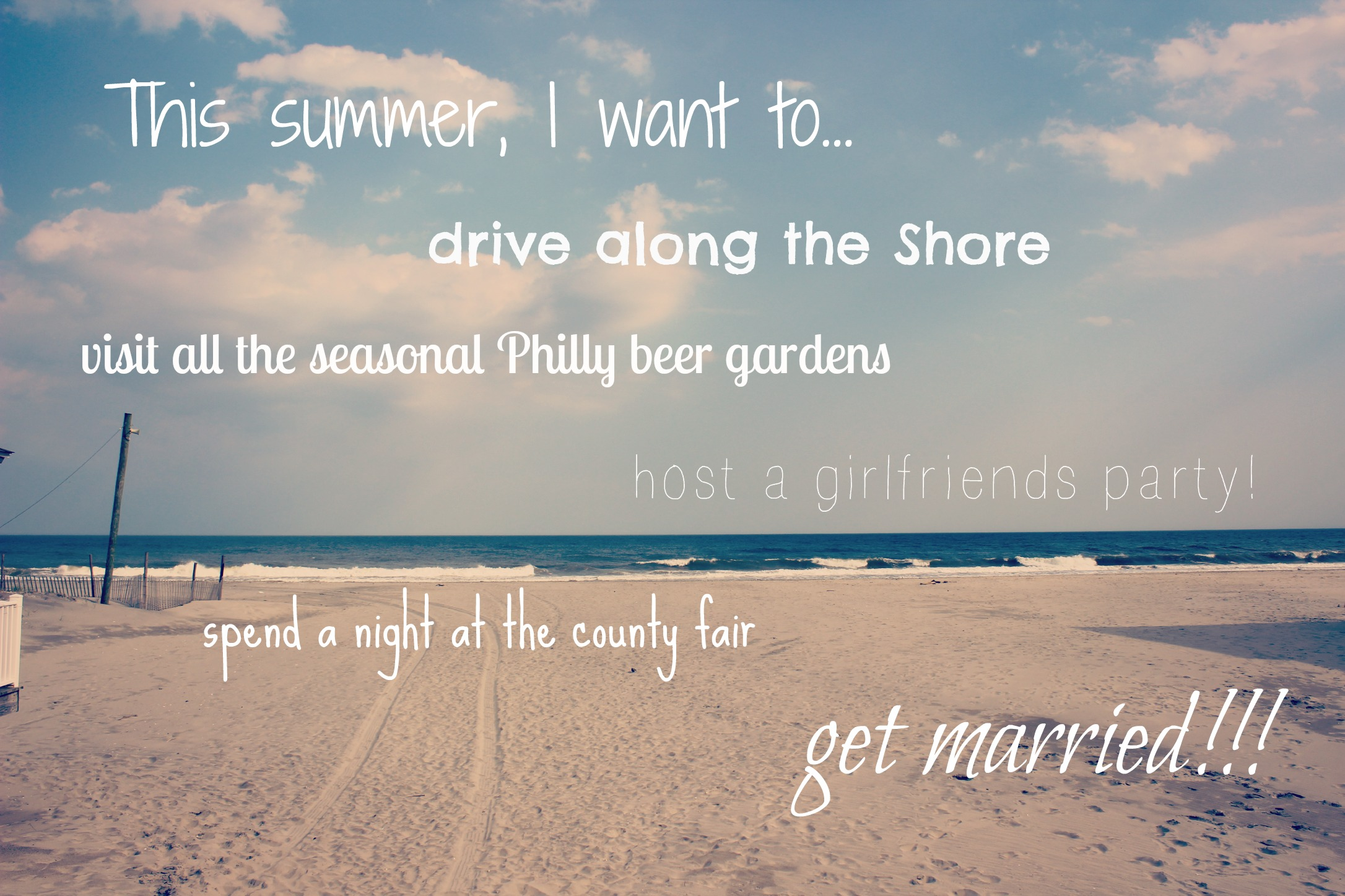 My Summer Bucket List 2015
