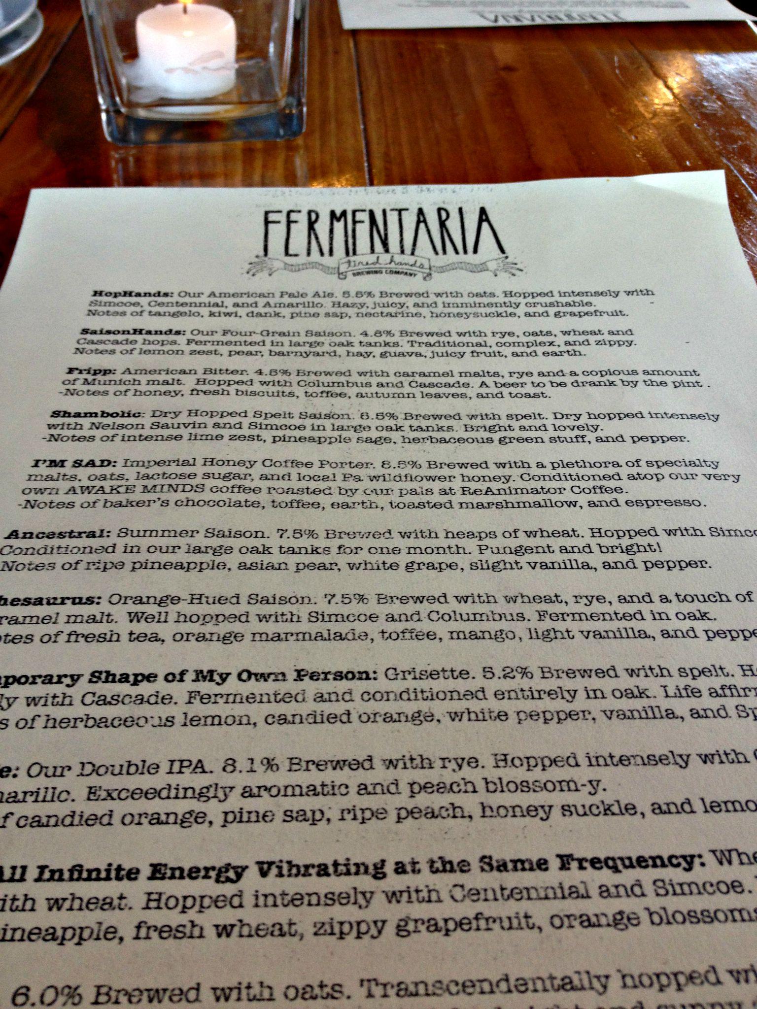 Tired Hands Fermenteria