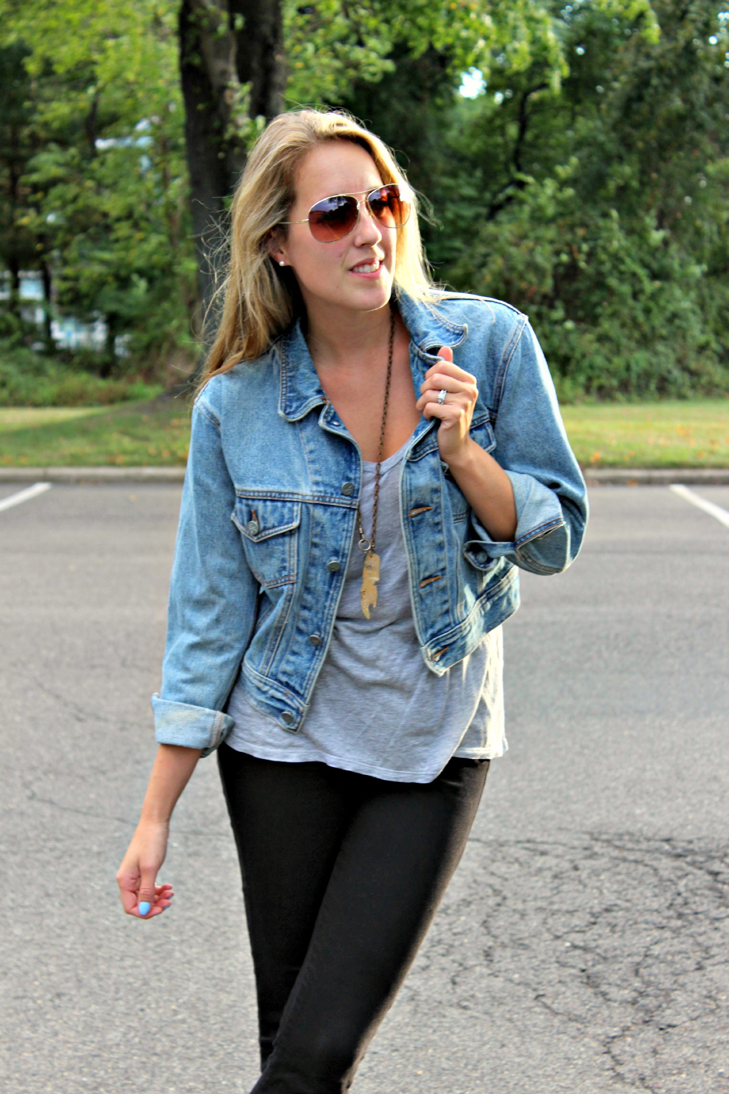 Wearing: That Perfect Gray Tee