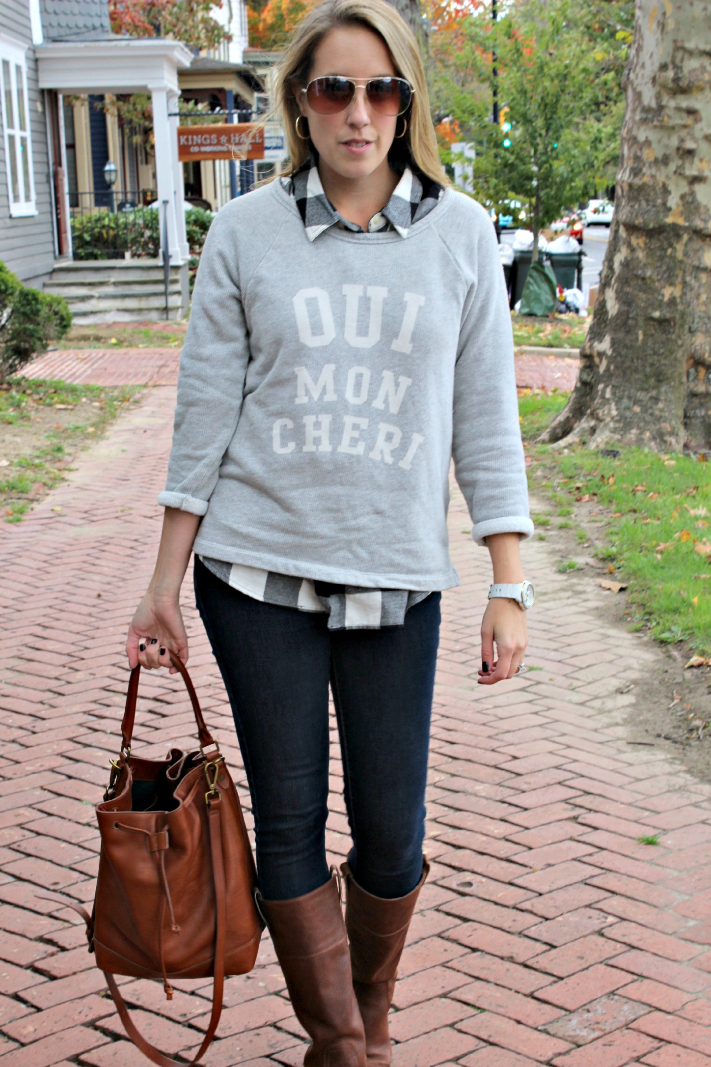 Wearing: Just Say Yes to the Sweatshirt