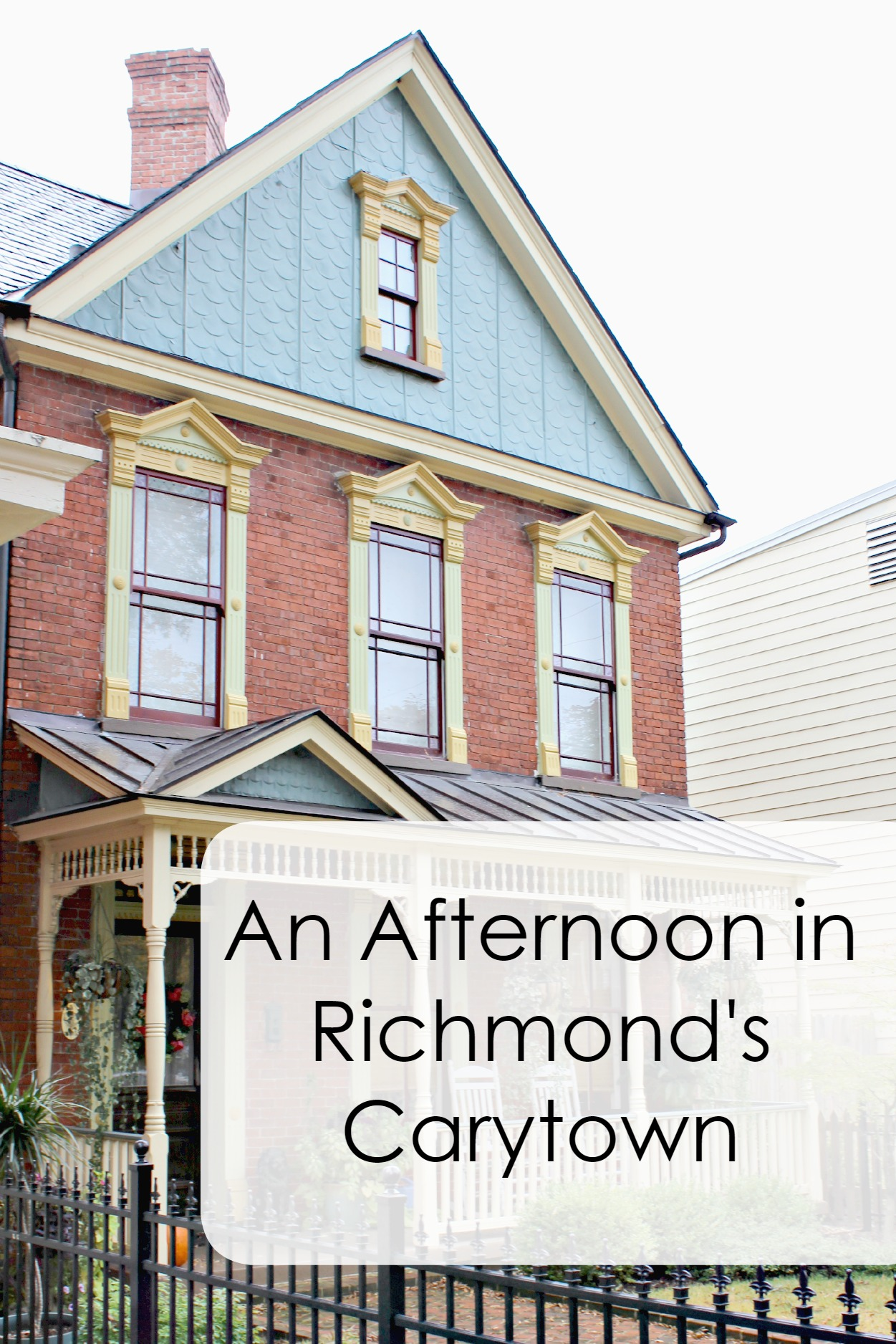 An Afternoon in Richmond Va's Carytown Neighborhood