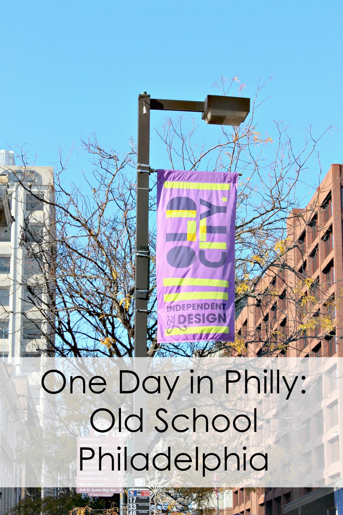 One Day in Philly: Old School