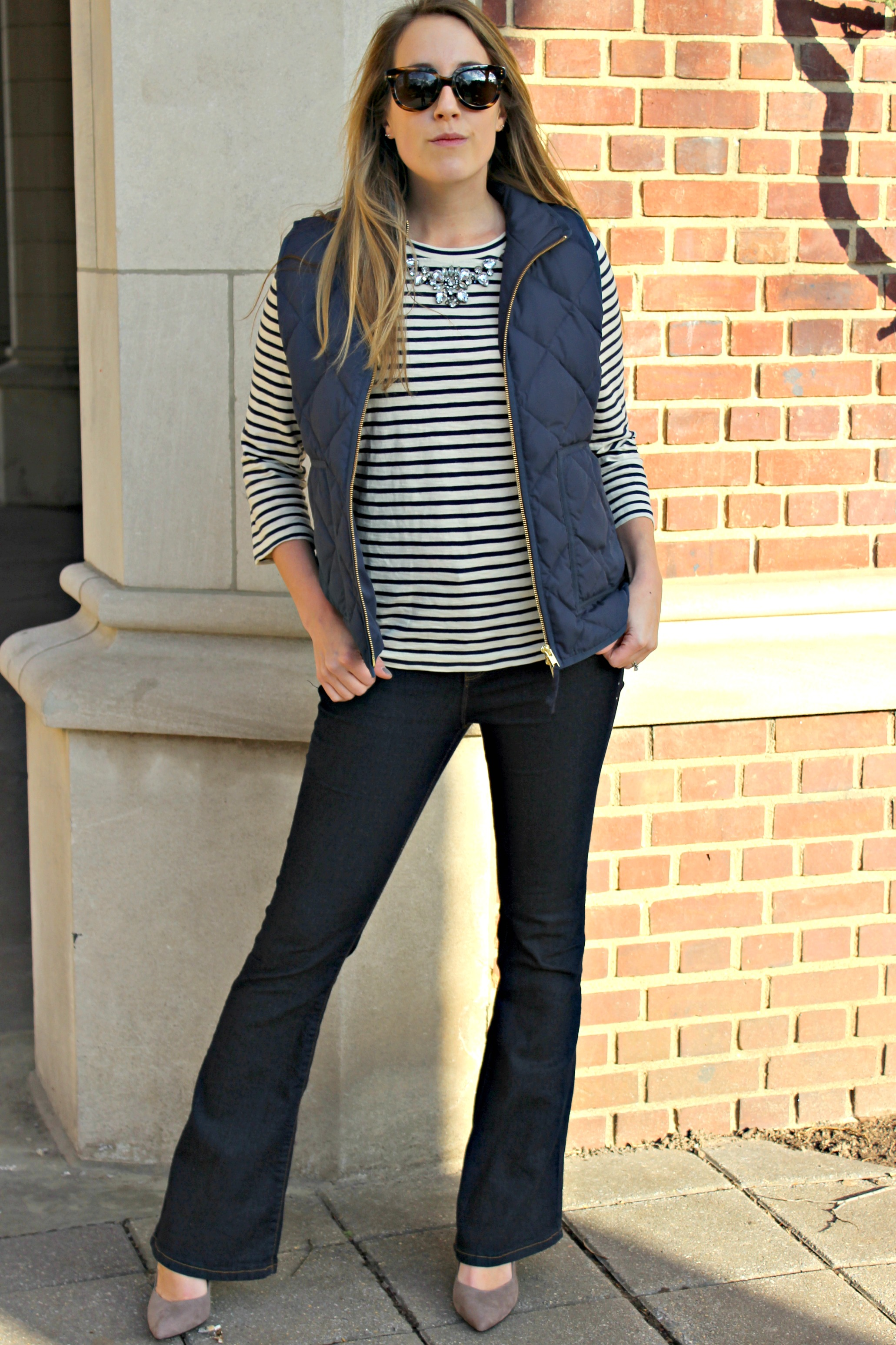 Wearing: Sparkle and Stripe