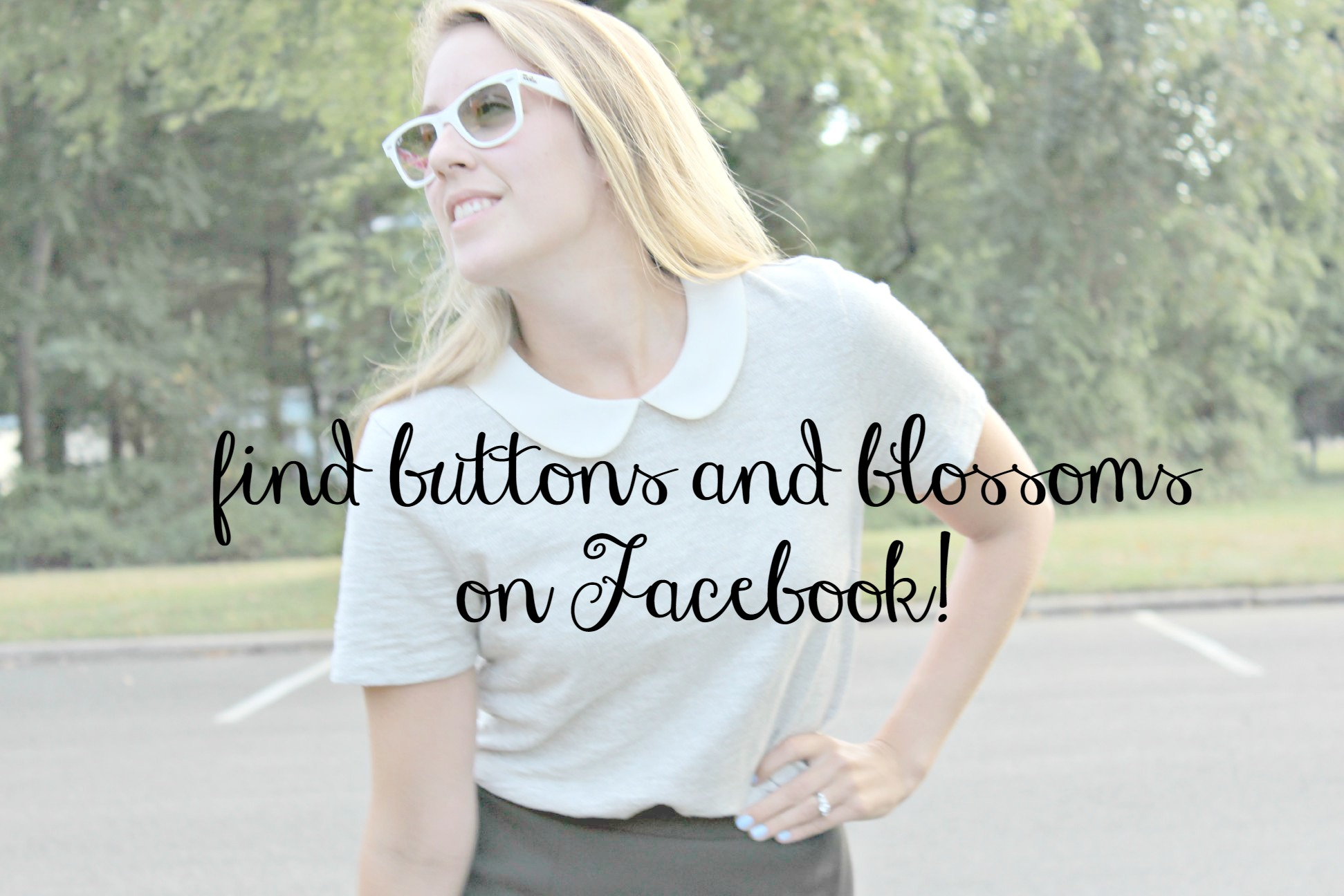 buttons and blossoms is on facebook!
