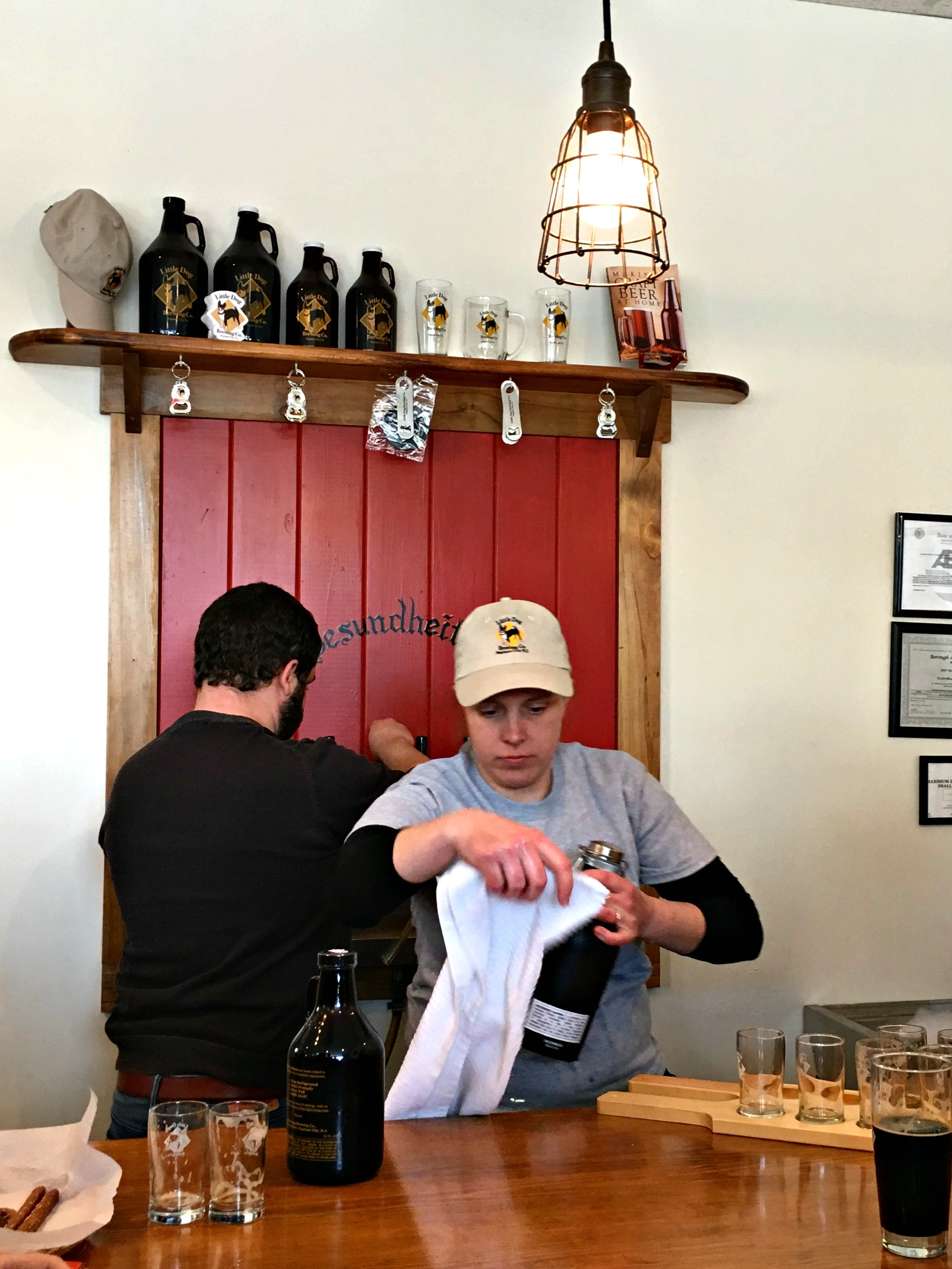 Brews Down the Shore: Dark City Brewing and Little Dog Brewing