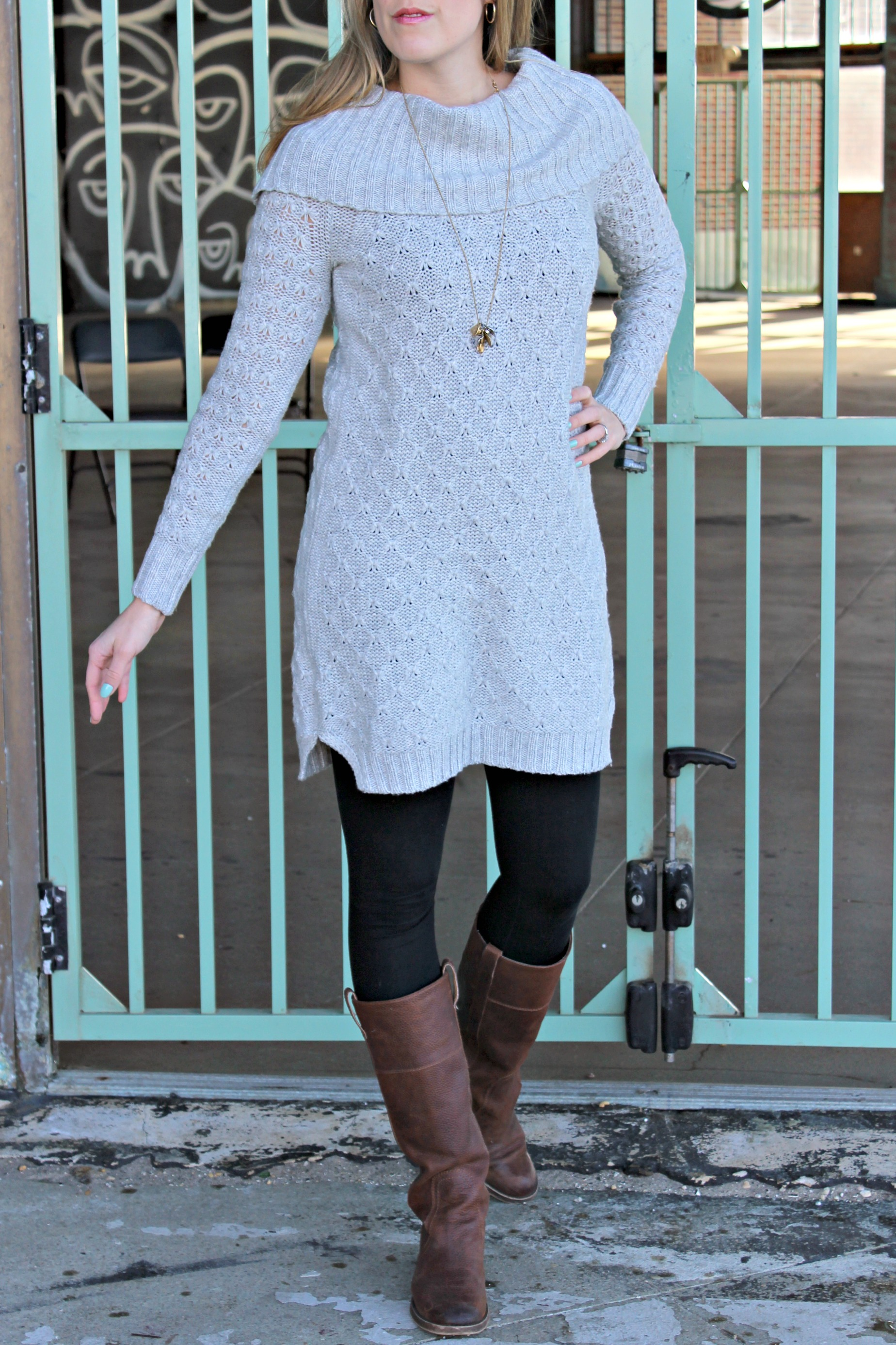 Wearing: This Winter's Perfect Sweater Dress