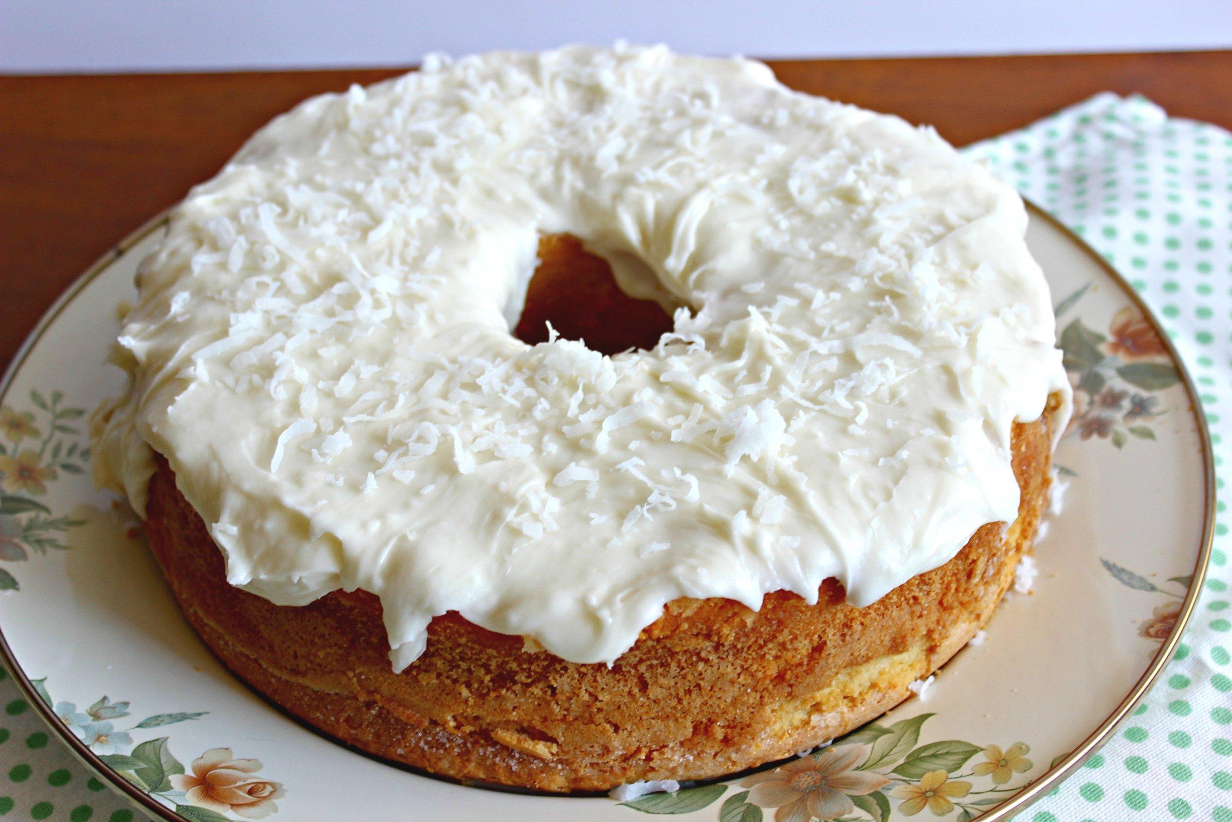 Around the World in 28 Cakes: Louisiana Crunch Cake