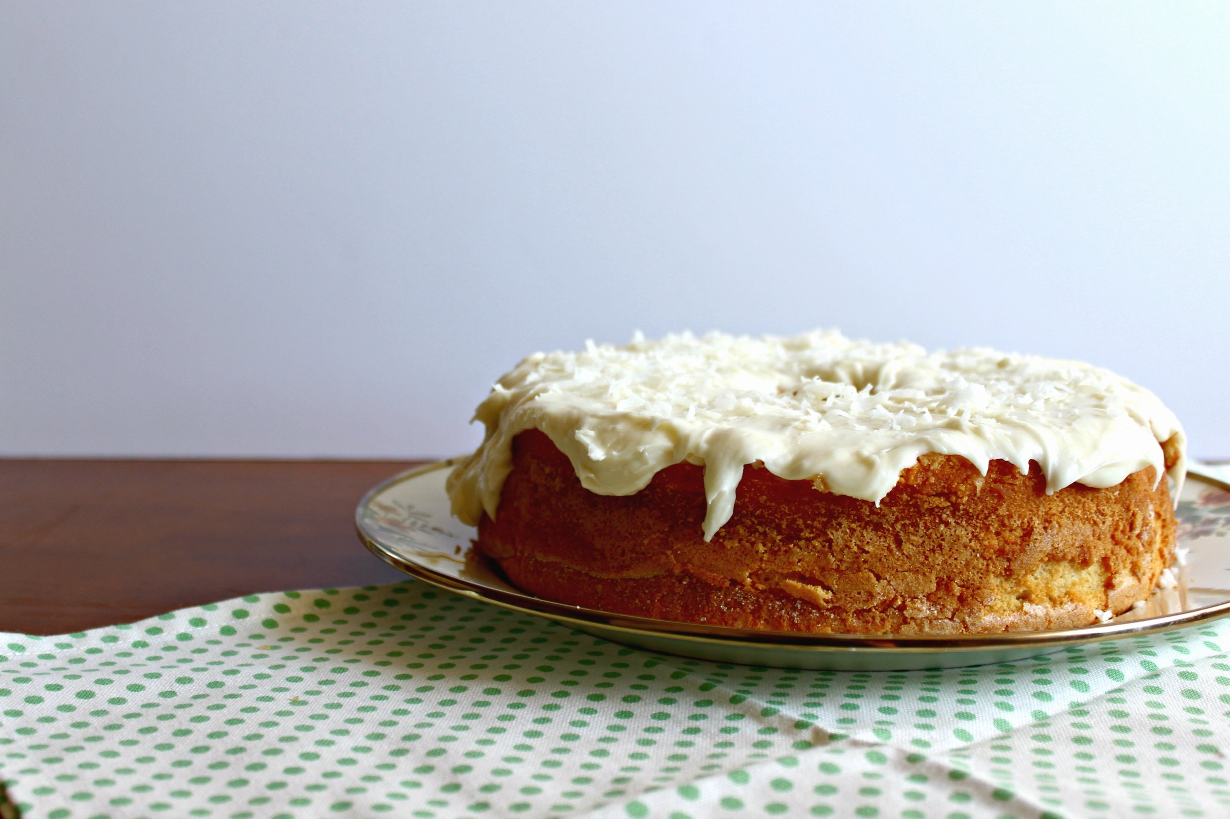 Around the World in 28 Cakes: Louisiana Crunch Cake, a Southern coconut pound cake
