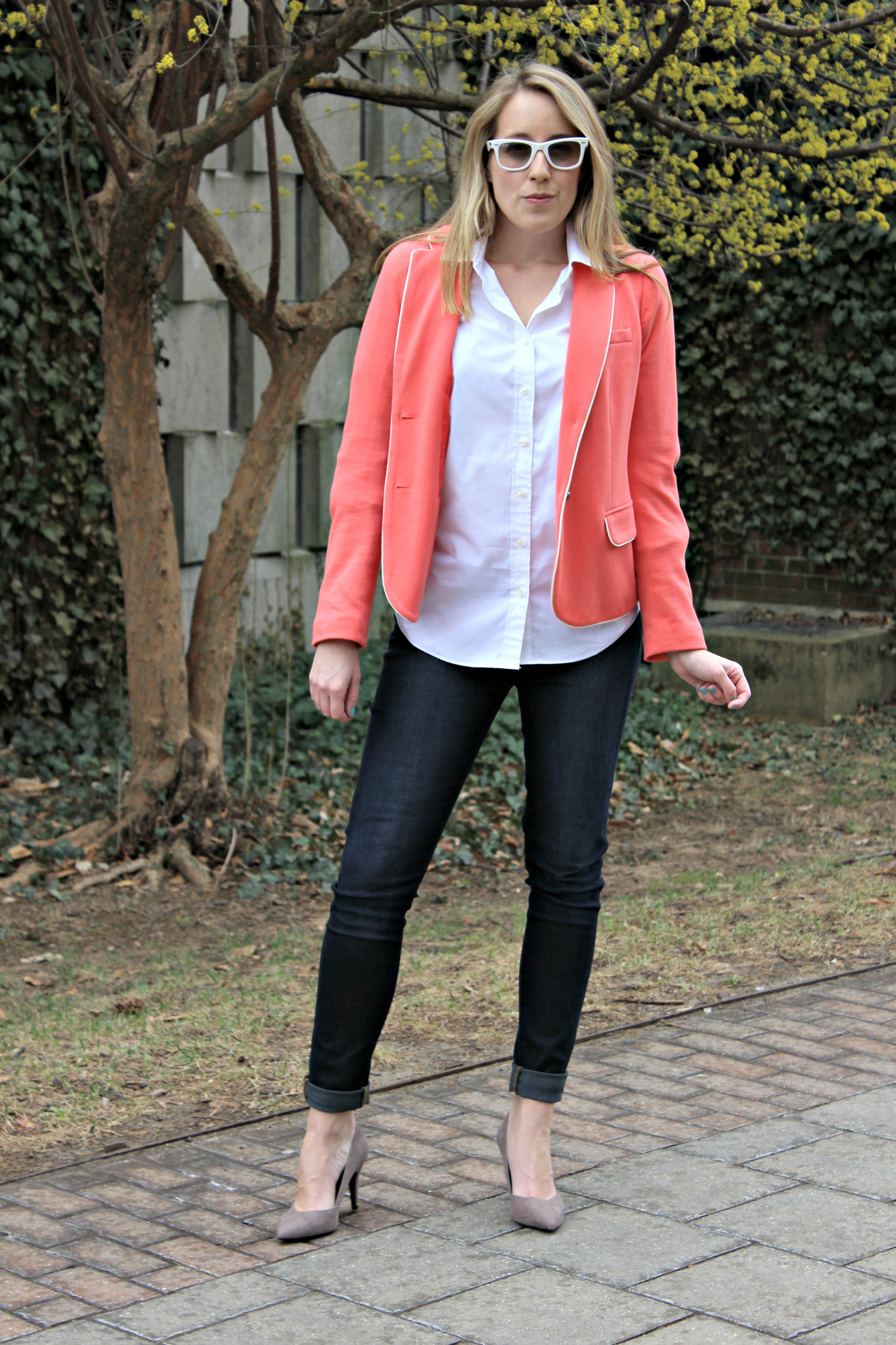 Wearing: Easter Brunch Buttoned Down