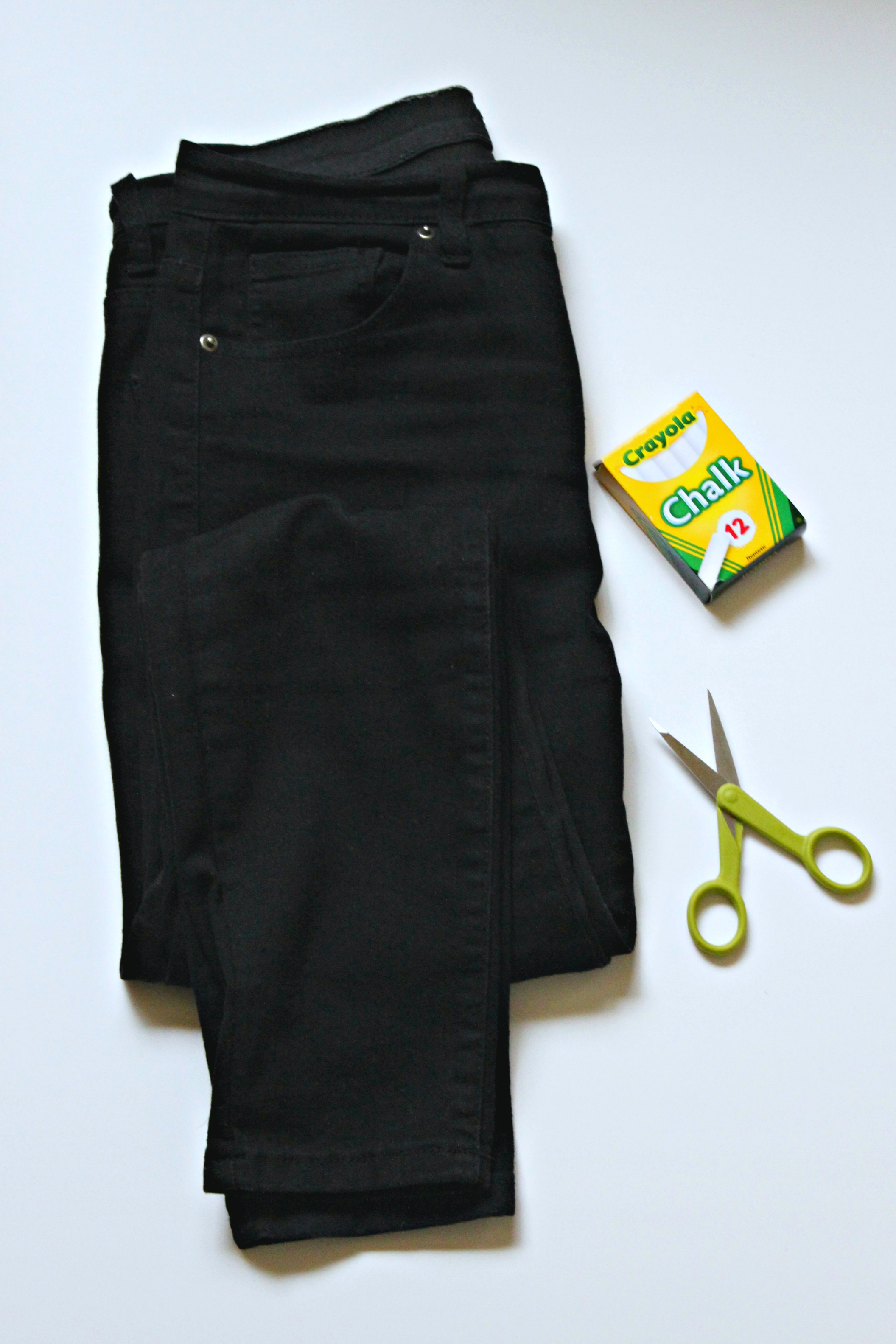 How to Make Your Own Ripped Black Jeans for Under $15