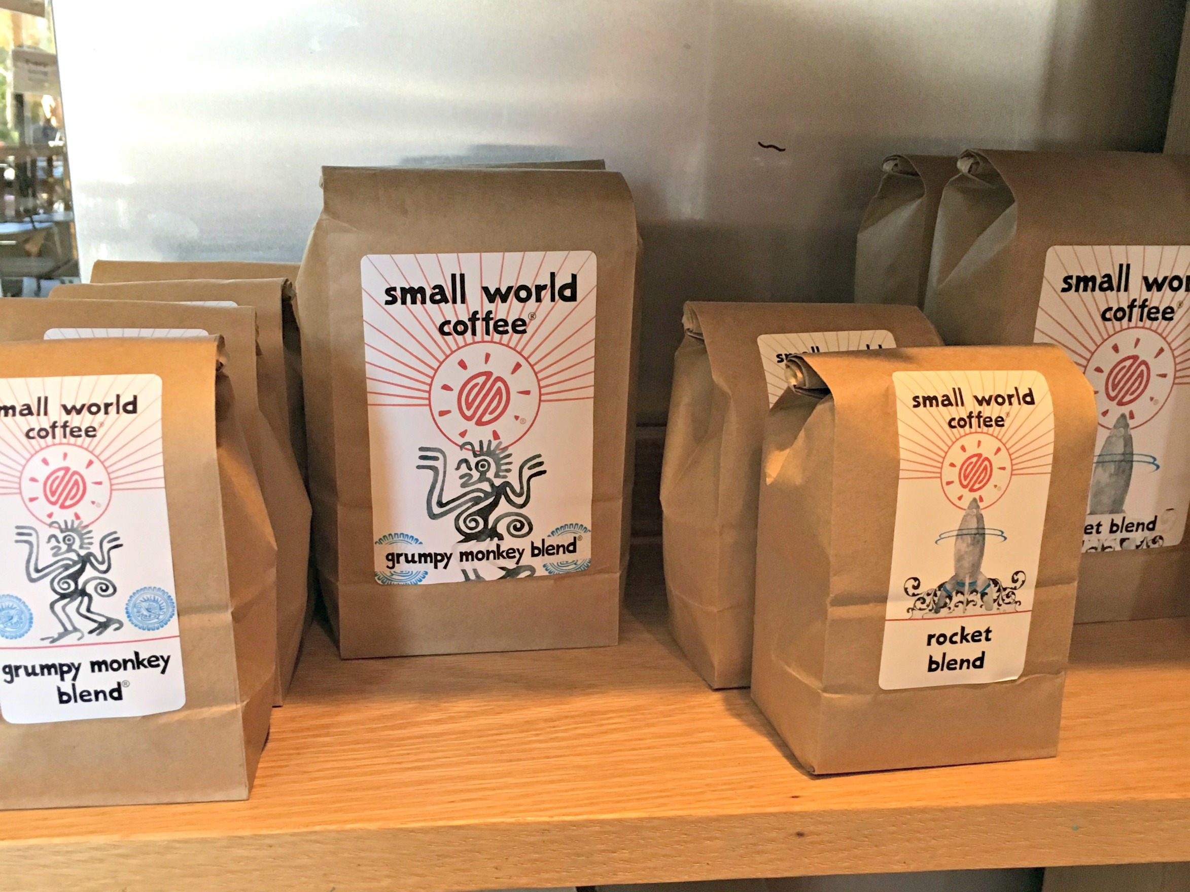 But First: Small World Coffee