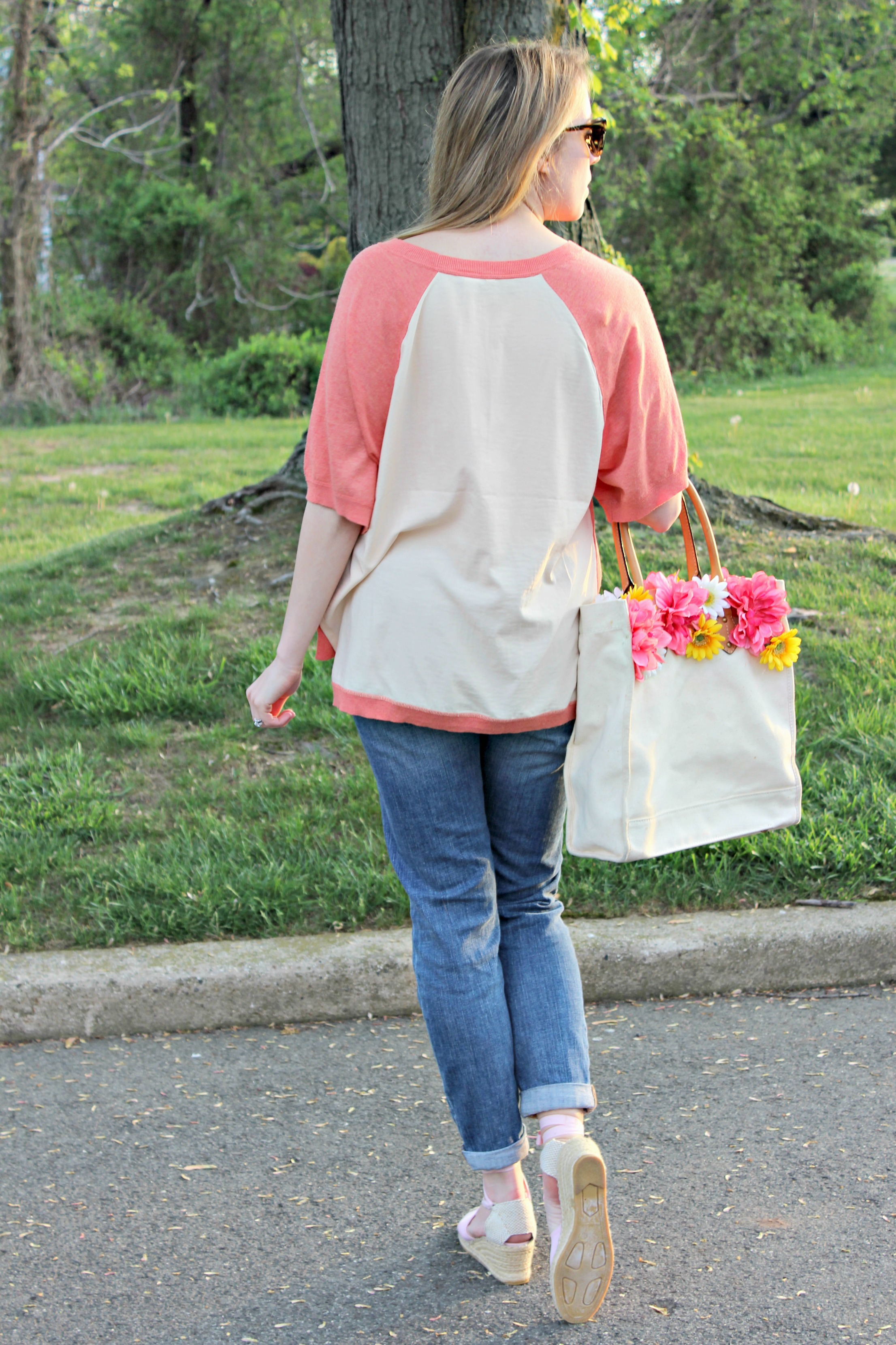 Wearing: Sunrise Colors and Springtime Vibes