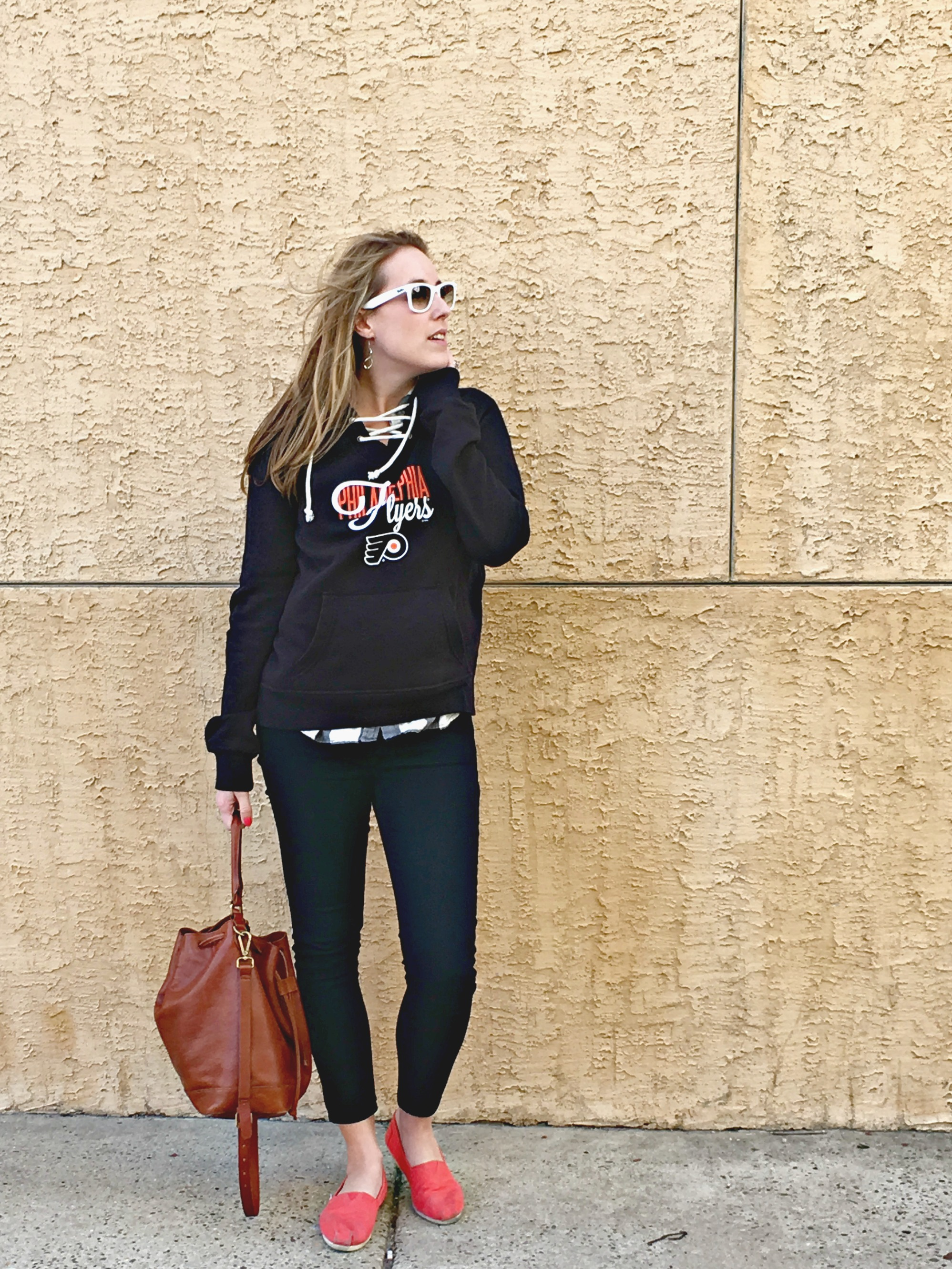 What I Wore Wednesday: To A Hockey Game