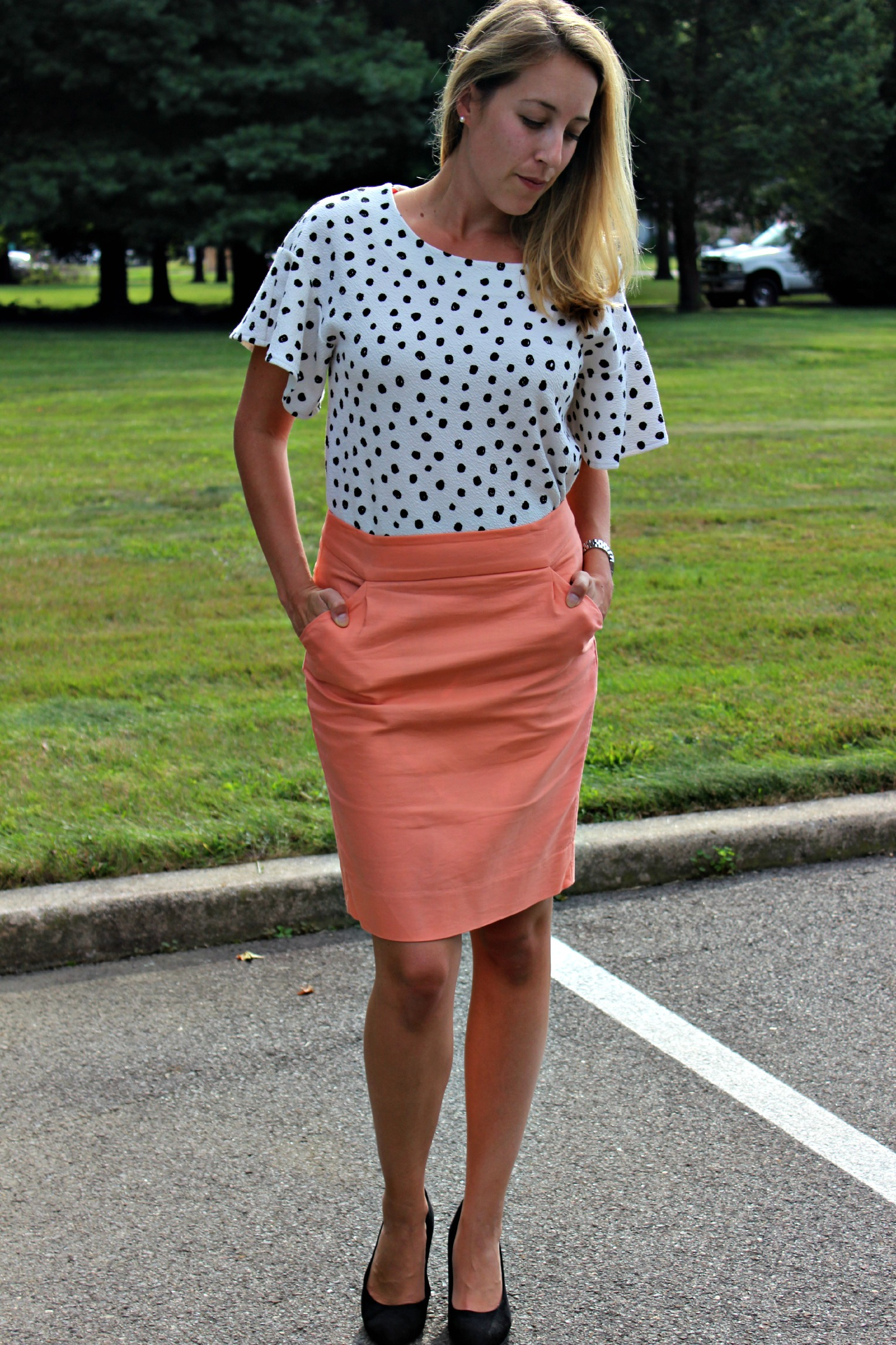 Five Easy Spring Outfits for Any Occasion // bright and beautiful for work