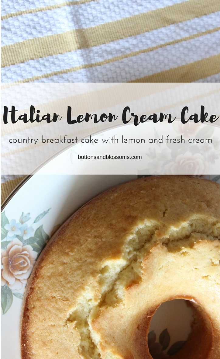 Around the World in 28 Cakes: Italian Lemon Cream Cake