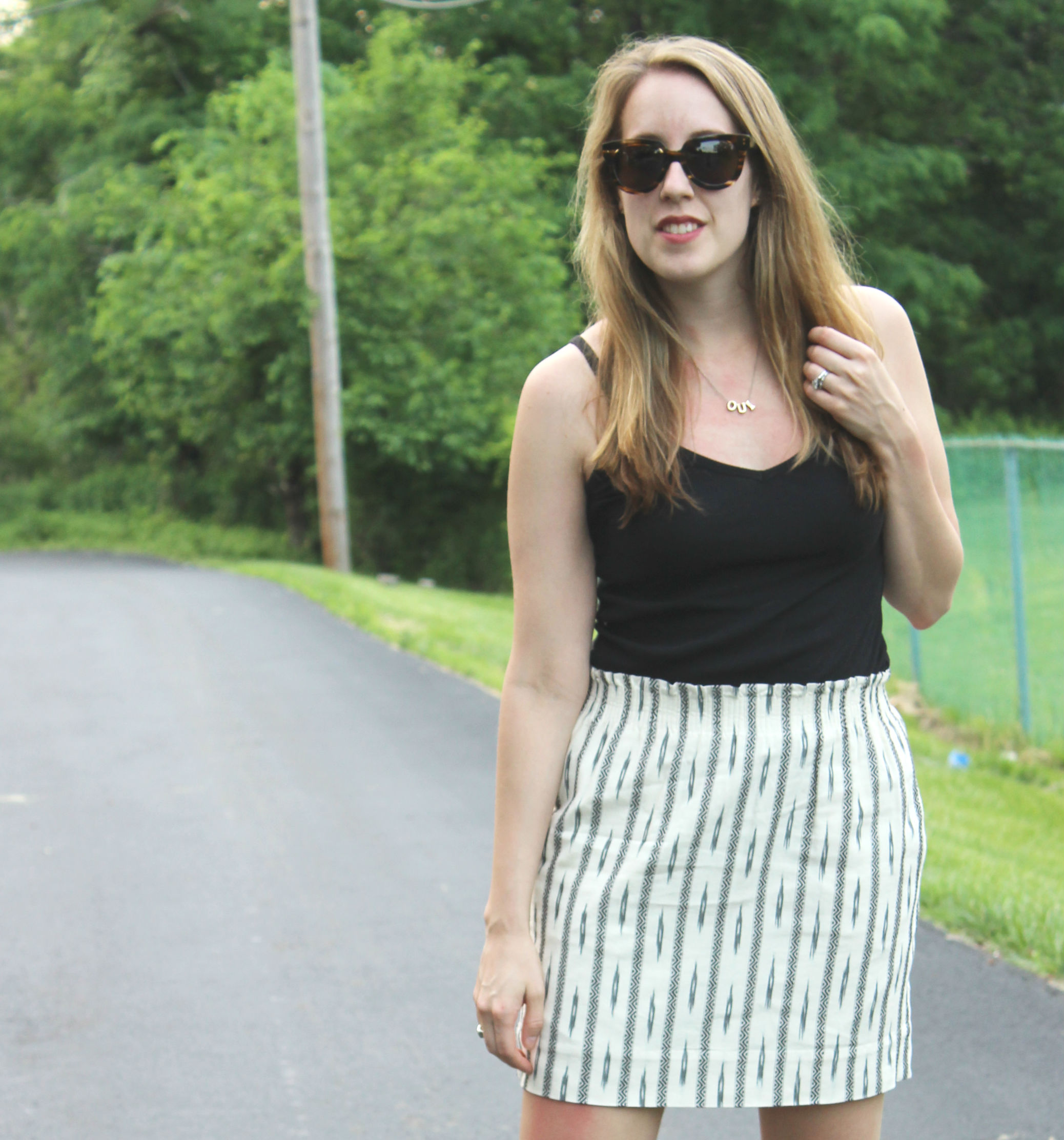 Wearing: It's Summer Time and Skirts are so Easy