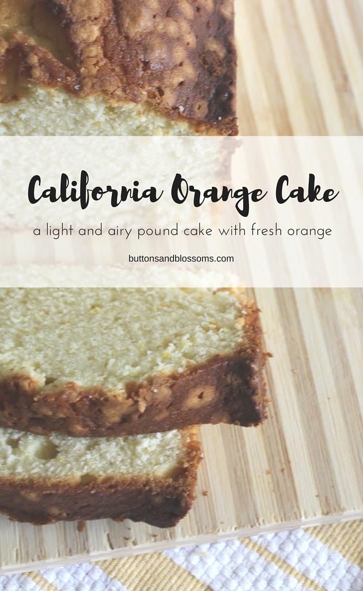 Around the World in 28 Cakes: California Orange Cake
