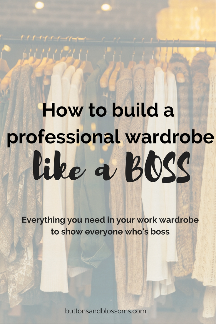 Starting a new career? Feel like your work clothes just aren't making the cut? Revamp your professional wardrobe with the basics. Because even though you may be ready to be the boss, you need to show everyone who's boss.