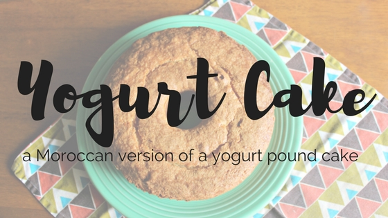 Moroccan Yogurt Cake