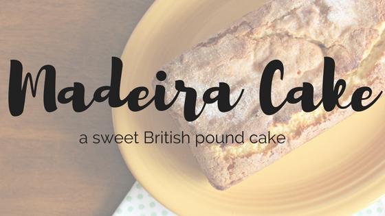 British Madeira Cake