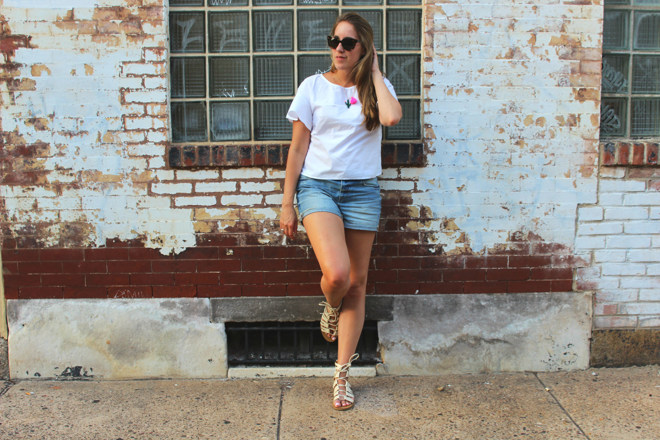 Wearing: Not Your Plain White Tee