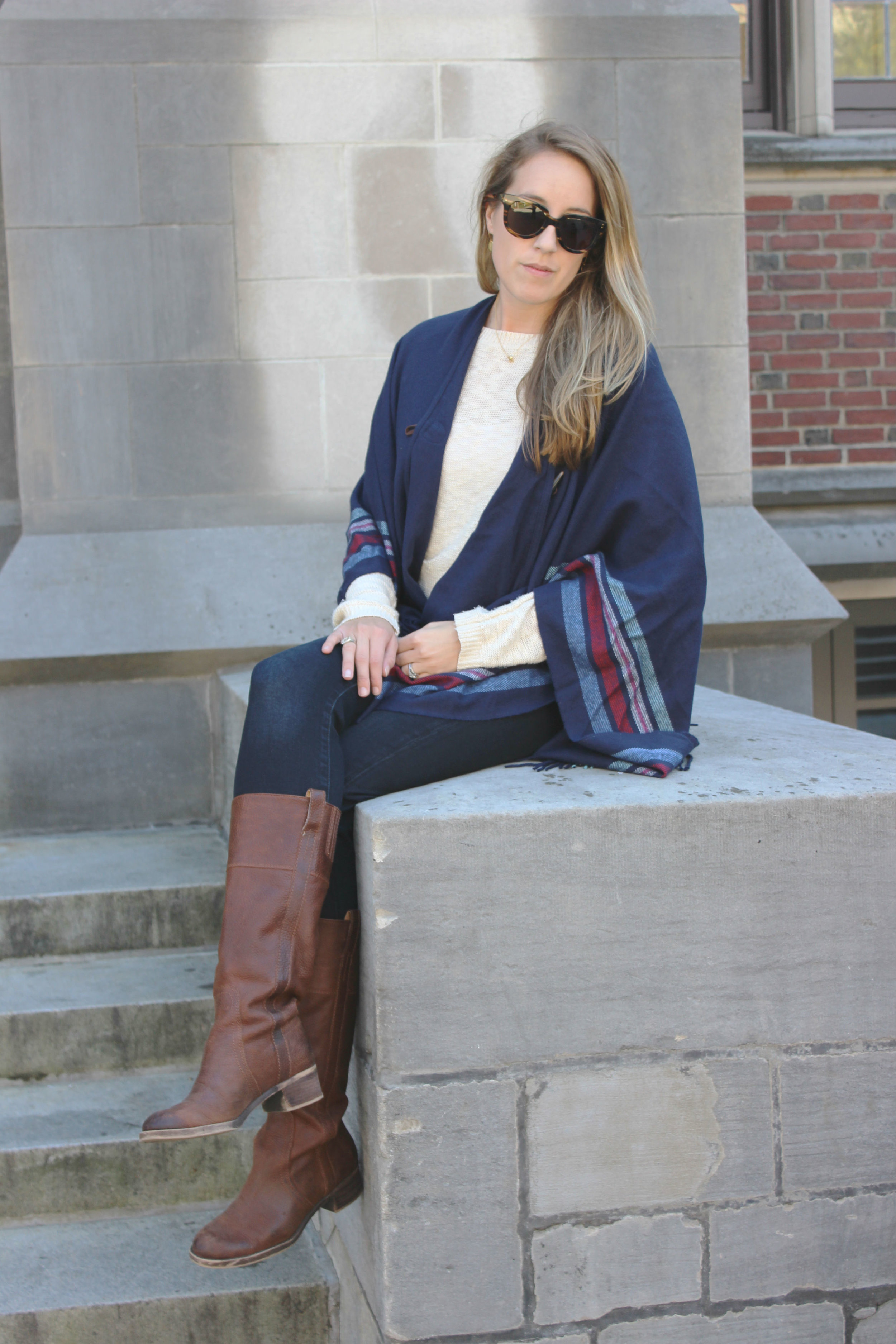 Wearing: Wrap Me Up in Fall Layers