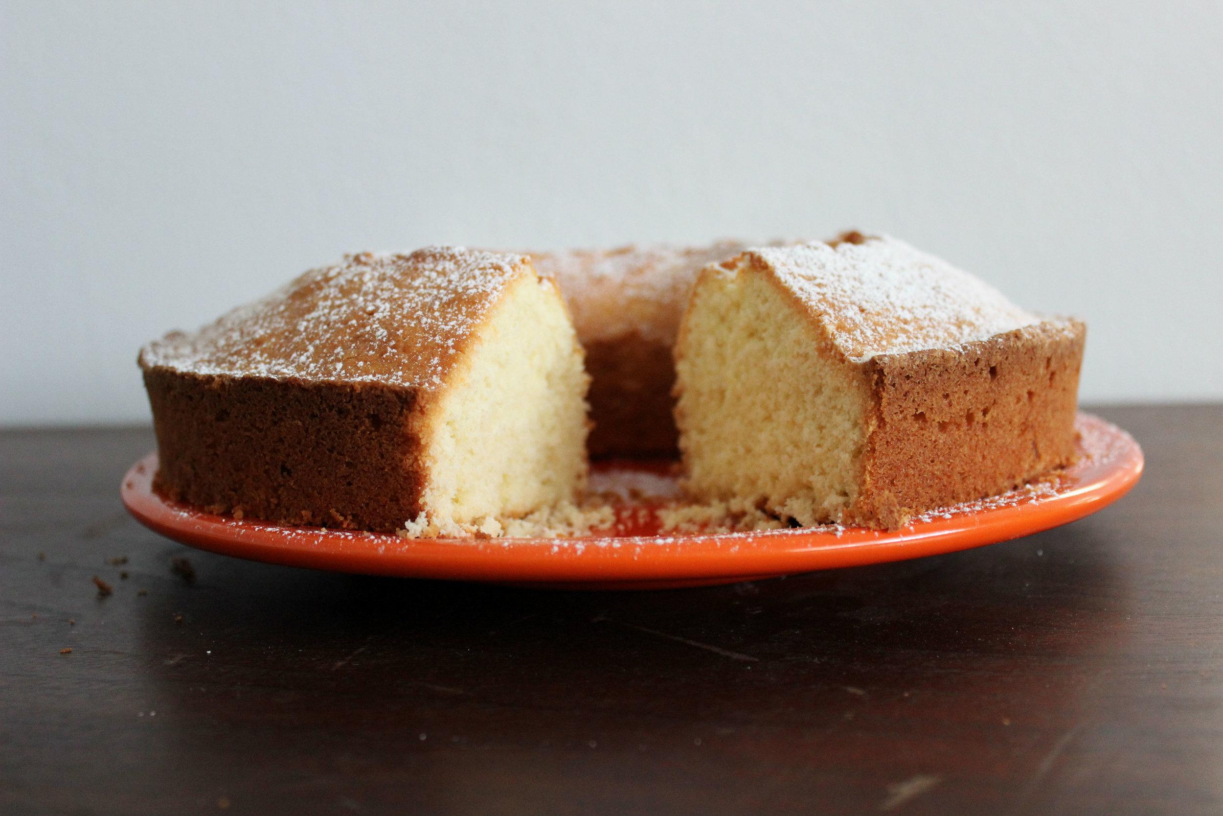 Around the World in 28 Cakes: German Sandkuchen