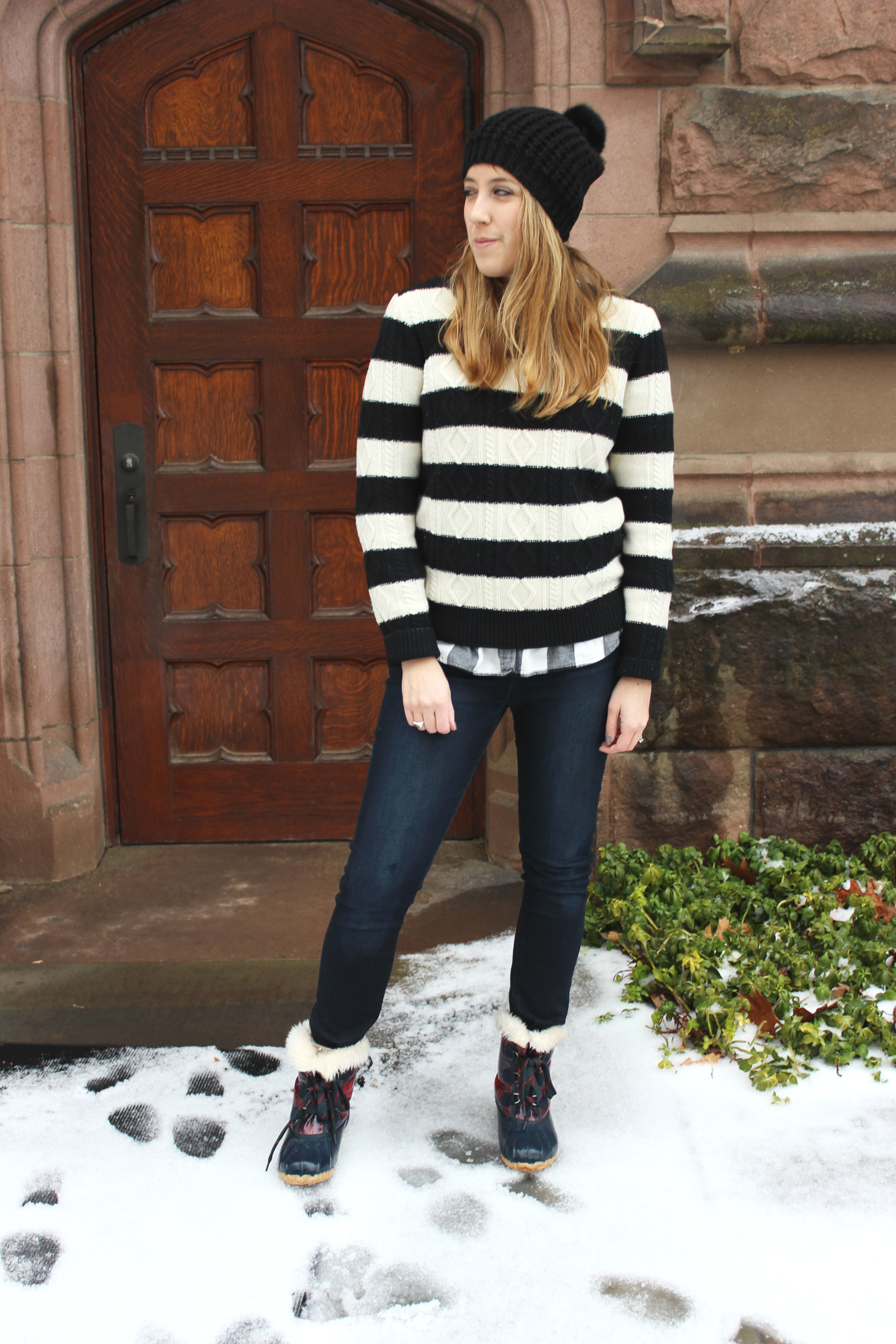 Wearing: How to Do A Layered Sweater