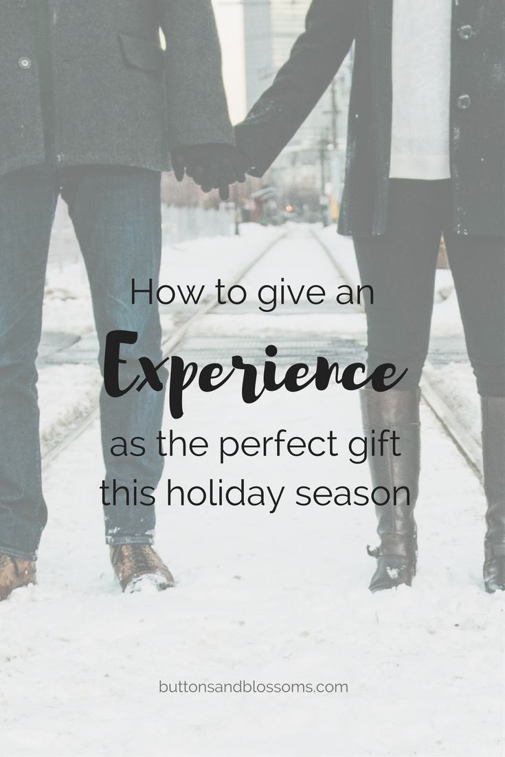 How to Give an Experience as a Gift