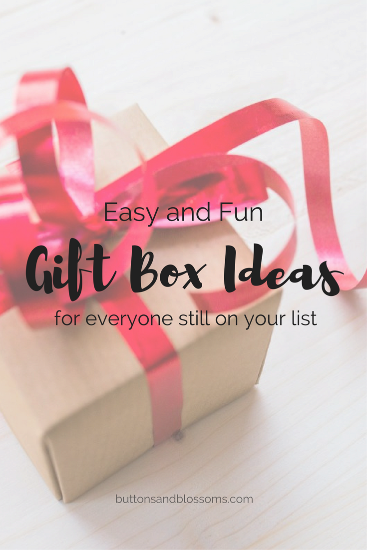 Easy and Fun Gift Box Ideas