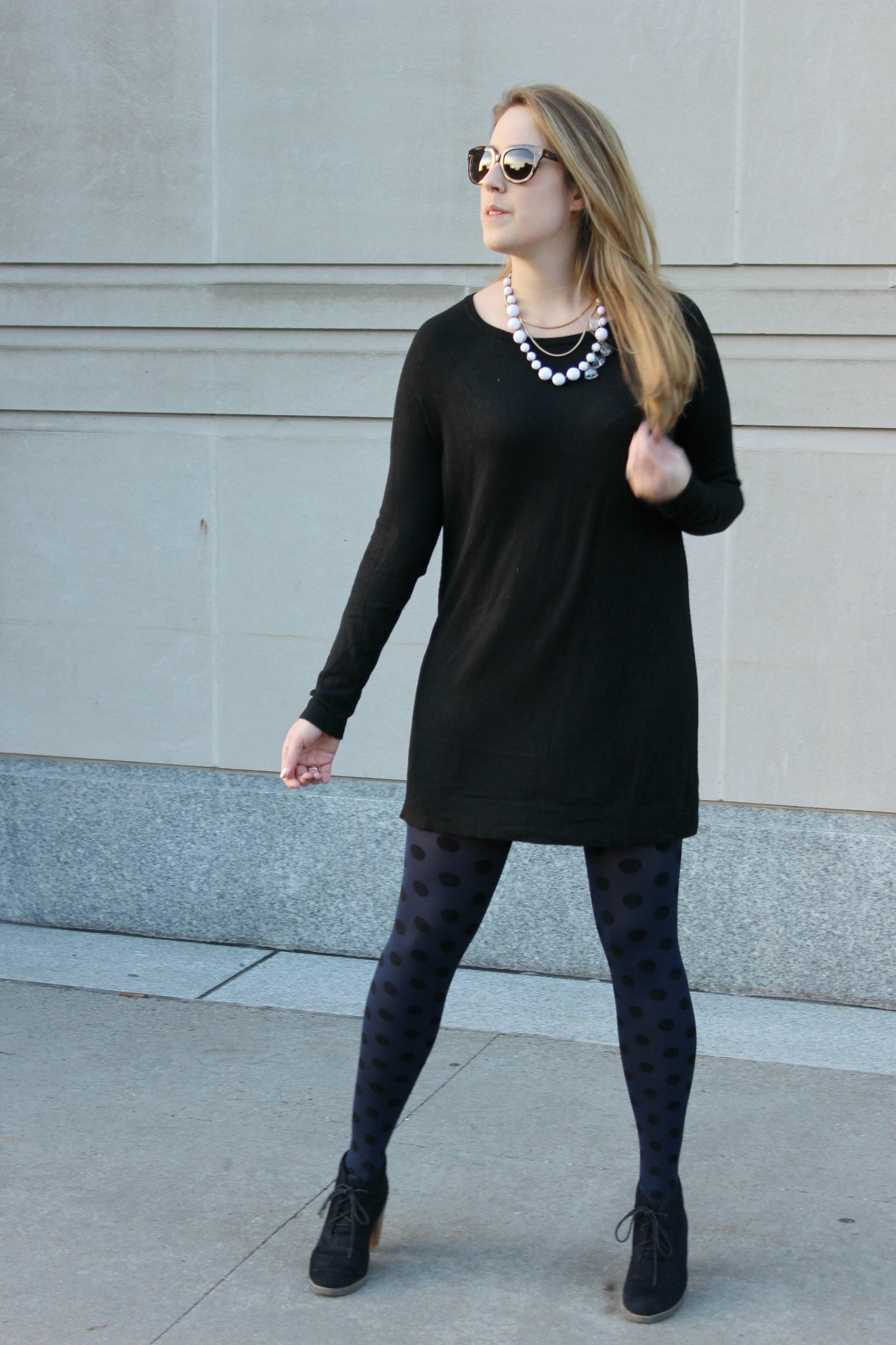 Wearing: Winter Date Night Sweater Dress