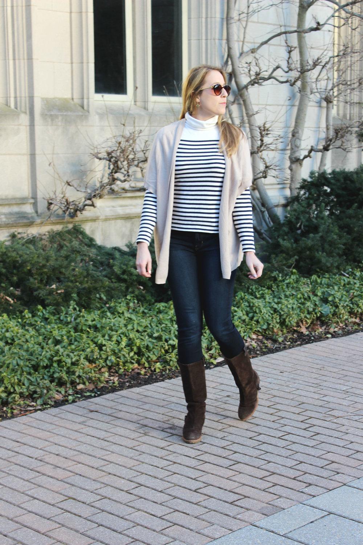 Wearing: Layered Turtleneck