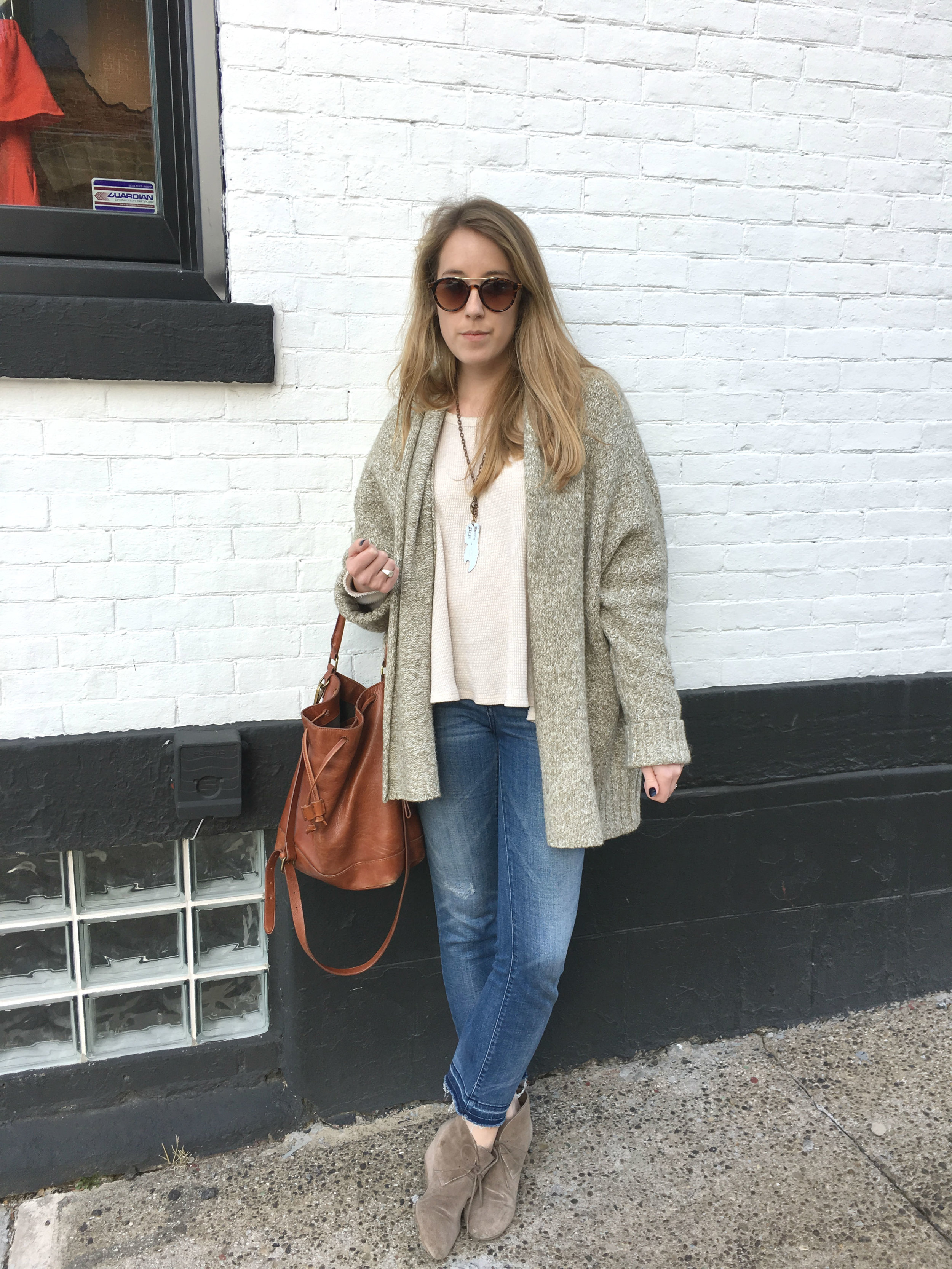 Wearing: Simple Spring Travel Outfits