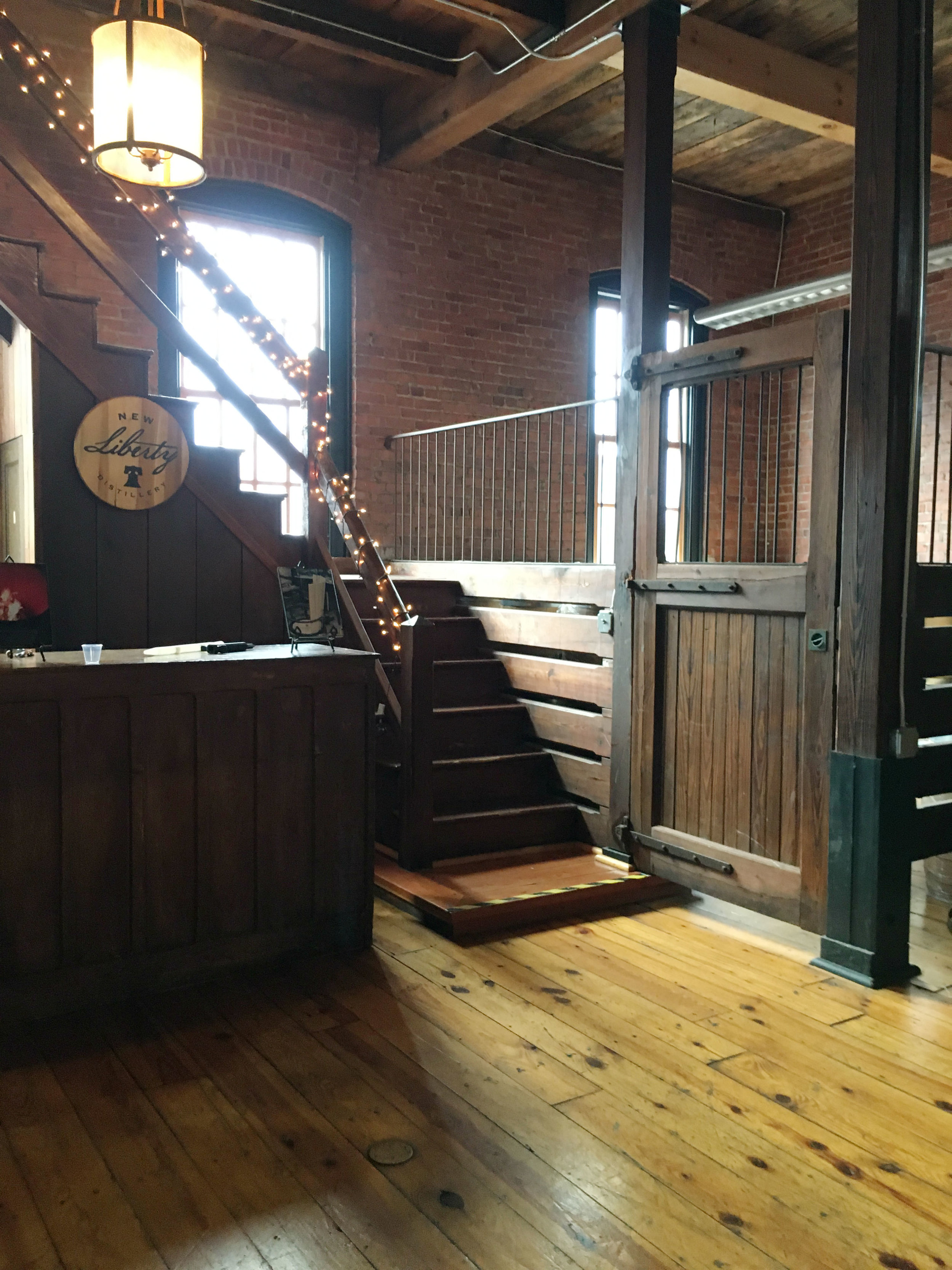 Quick Philly Trip: New Liberty Distillery
