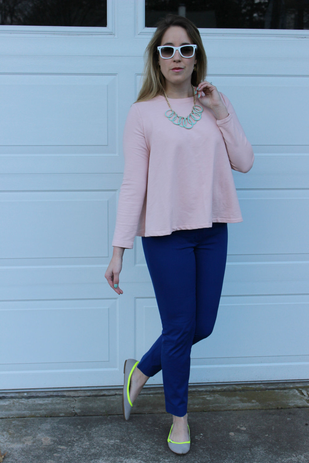 Mixing Bright Colors and Pastels for Spring