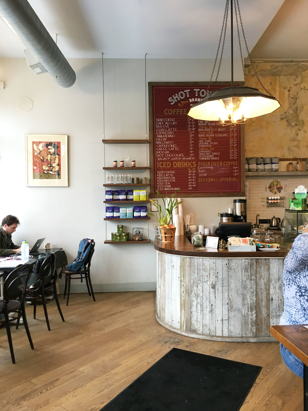 But First Coffee: Shot Tower Coffee in Philadelphia