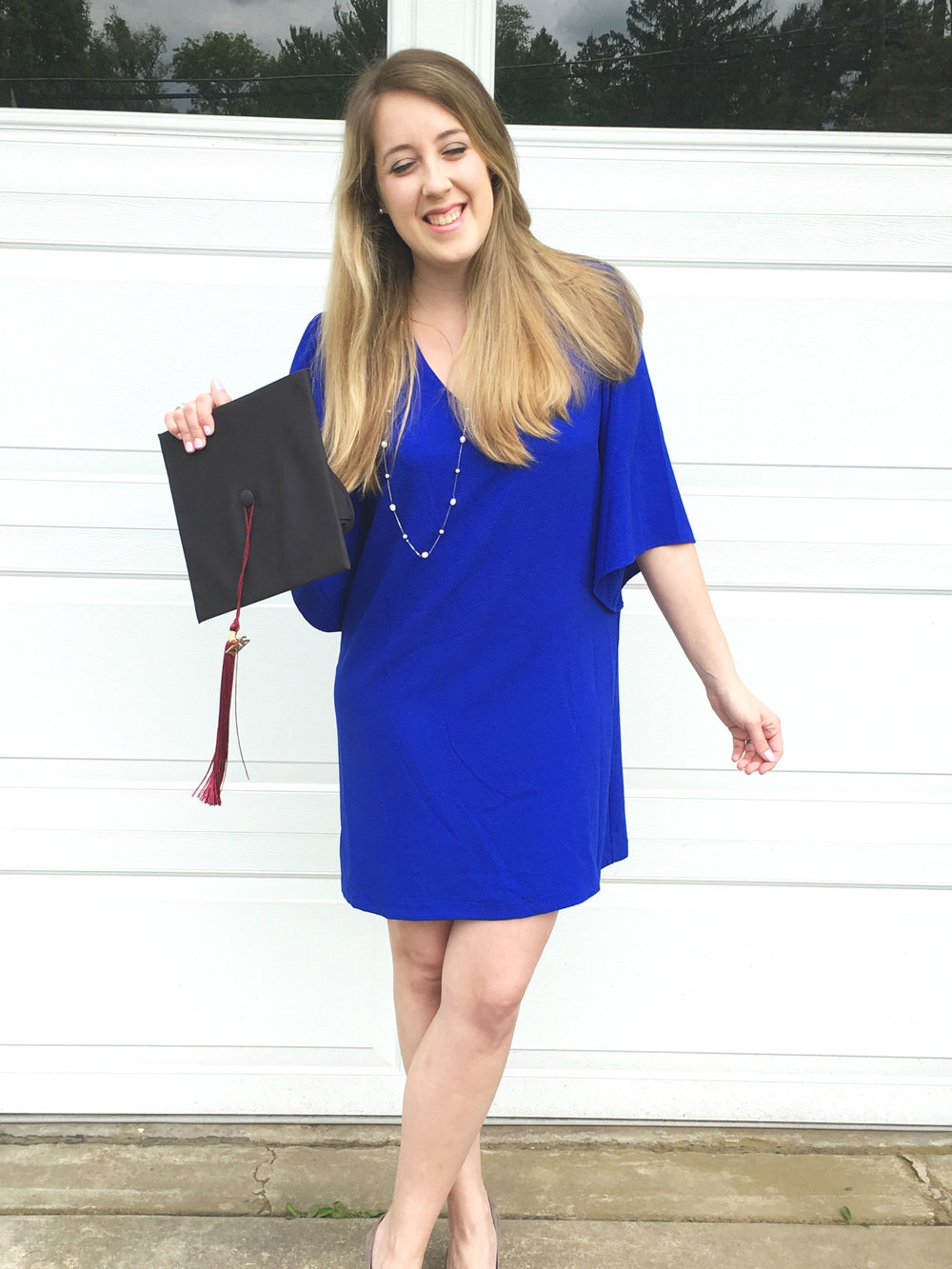 The Perfect Graduation Dress and Tips for New College Grads