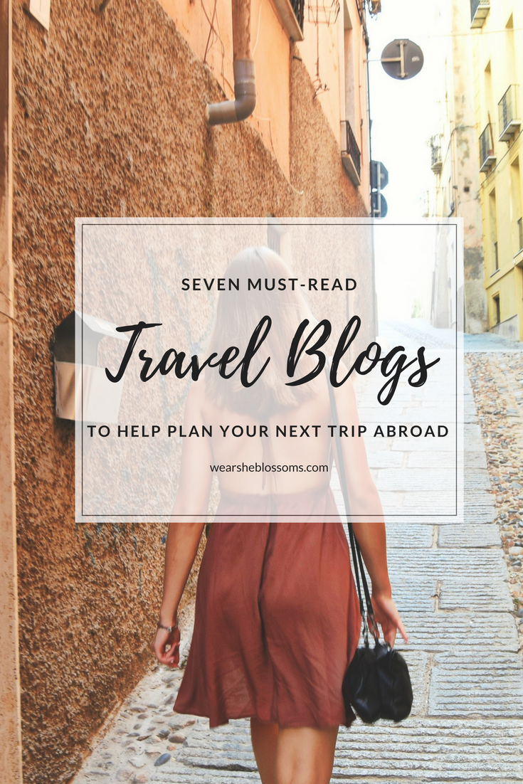 Seven blogs to read when you're planning your travels abroad