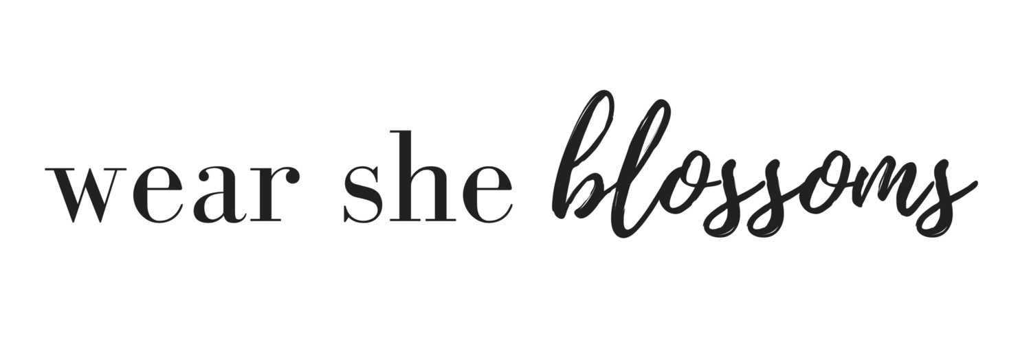 wear she blossoms