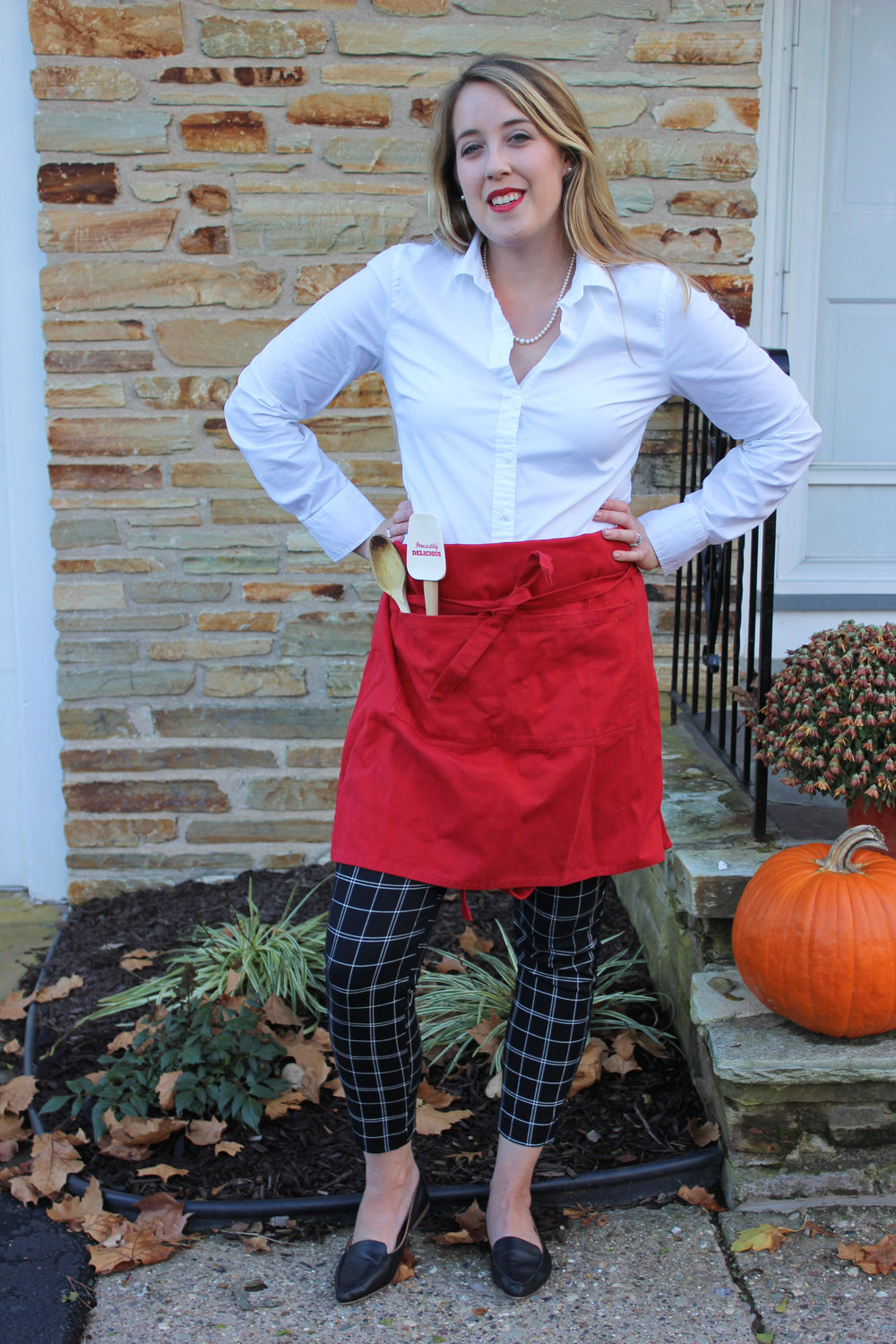 Three Effortless Last Minute DIY Halloween Costumes - Julia Child