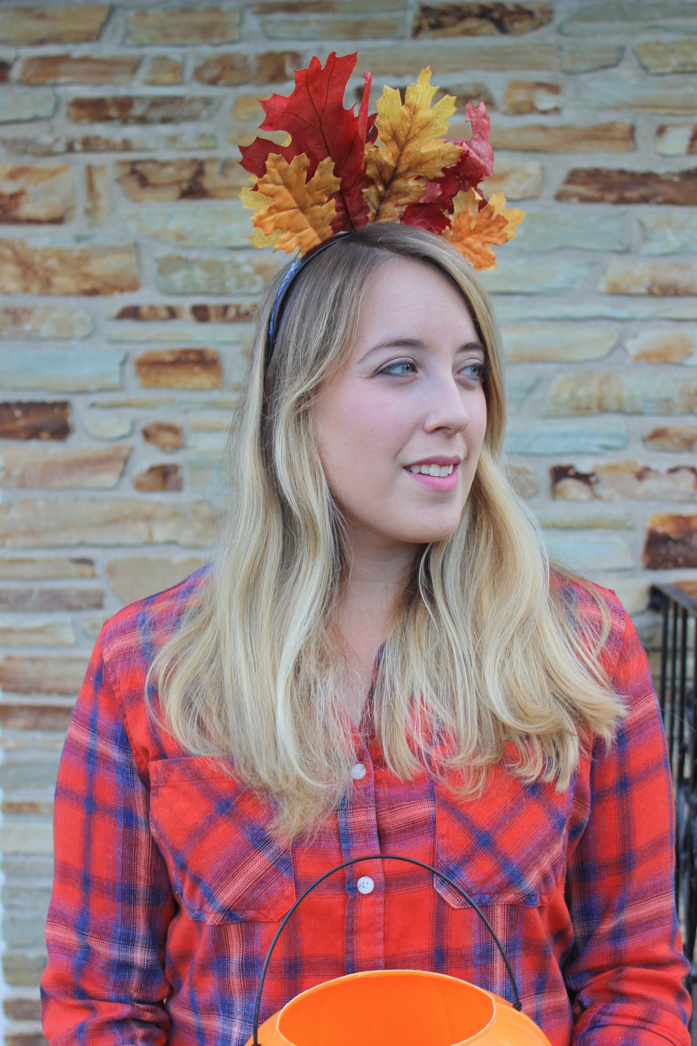 Three Last Minute Effortless DIY Halloween Costumes - Fall Leaf Crown