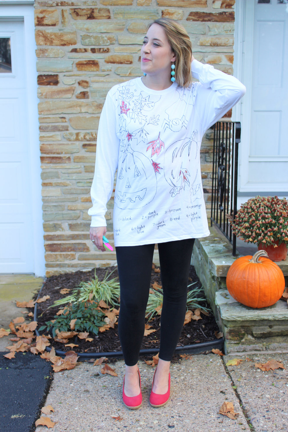 Three Last Minute DIY Halloween Costumes - Paint By Numbers