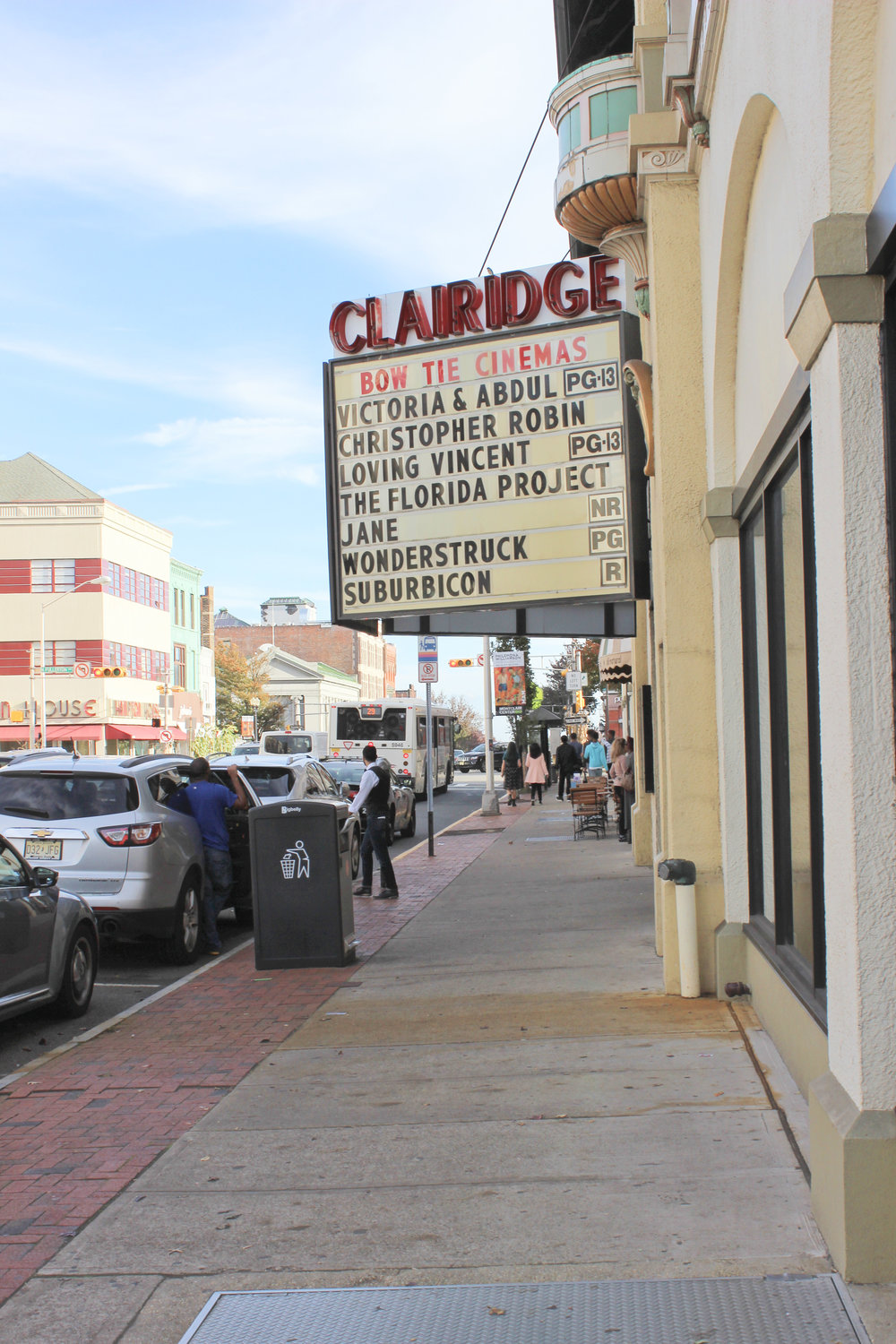 Small Town NJ: Montclair - Claridge movie theater