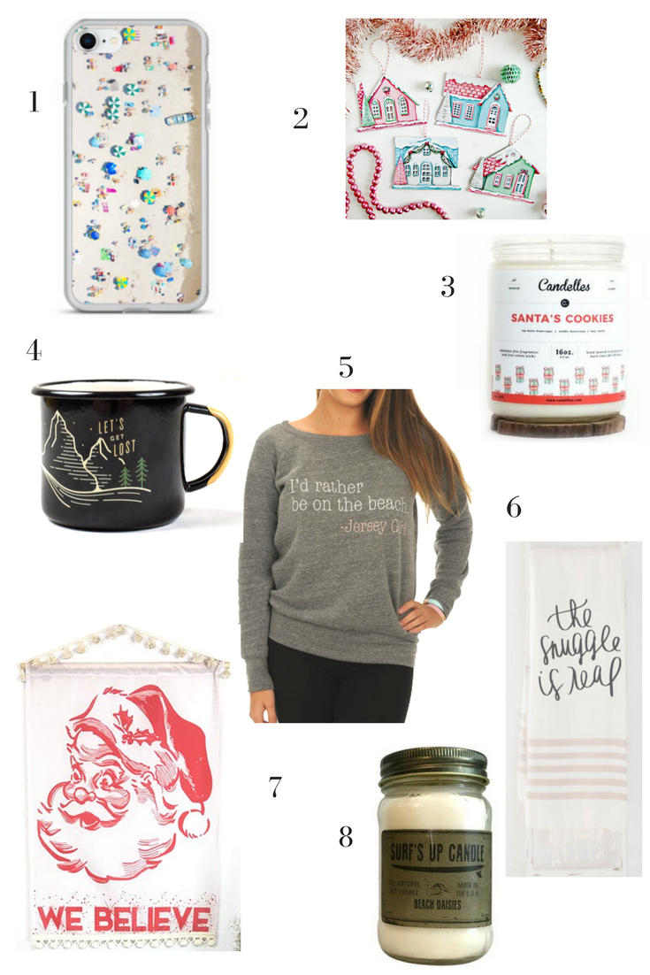 A Holiday Gift Guide with Shops Local to NJ and PA