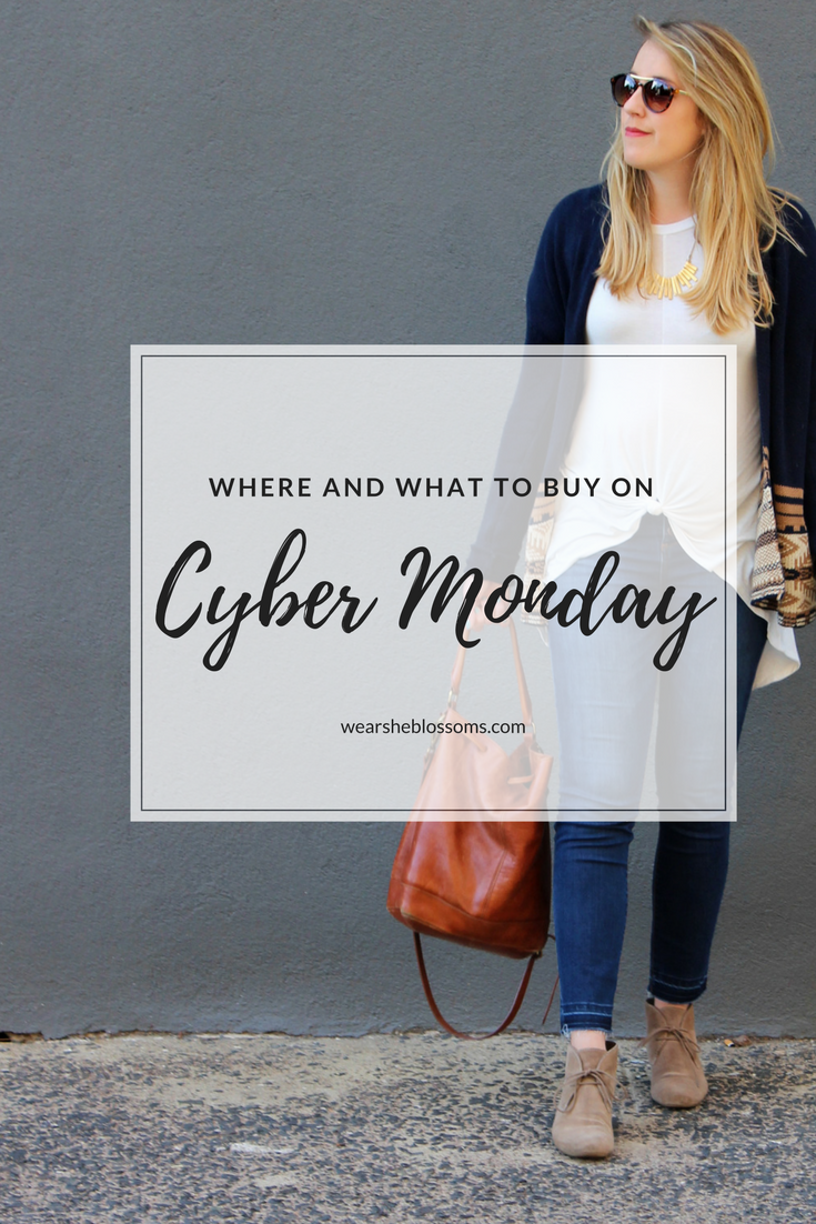 Where and What I'm Shopping For on Cyber Monday