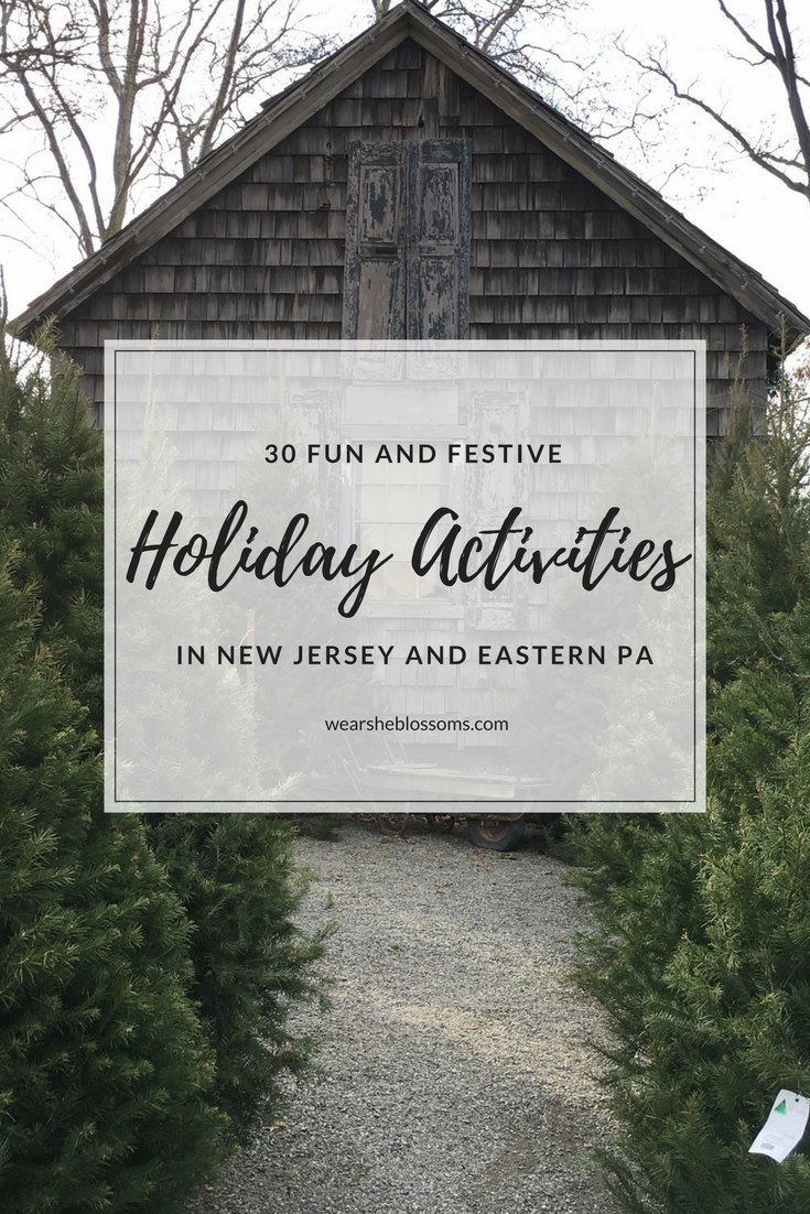 30 Holiday Things to Do in New Jersey and Eastern PA - Wear She Blossoms